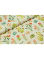 Megan Blue Fabrics Cactus fields wit