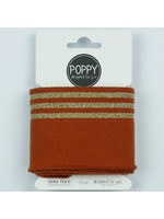 Designed for you by Poppy Cuffs roest/goud