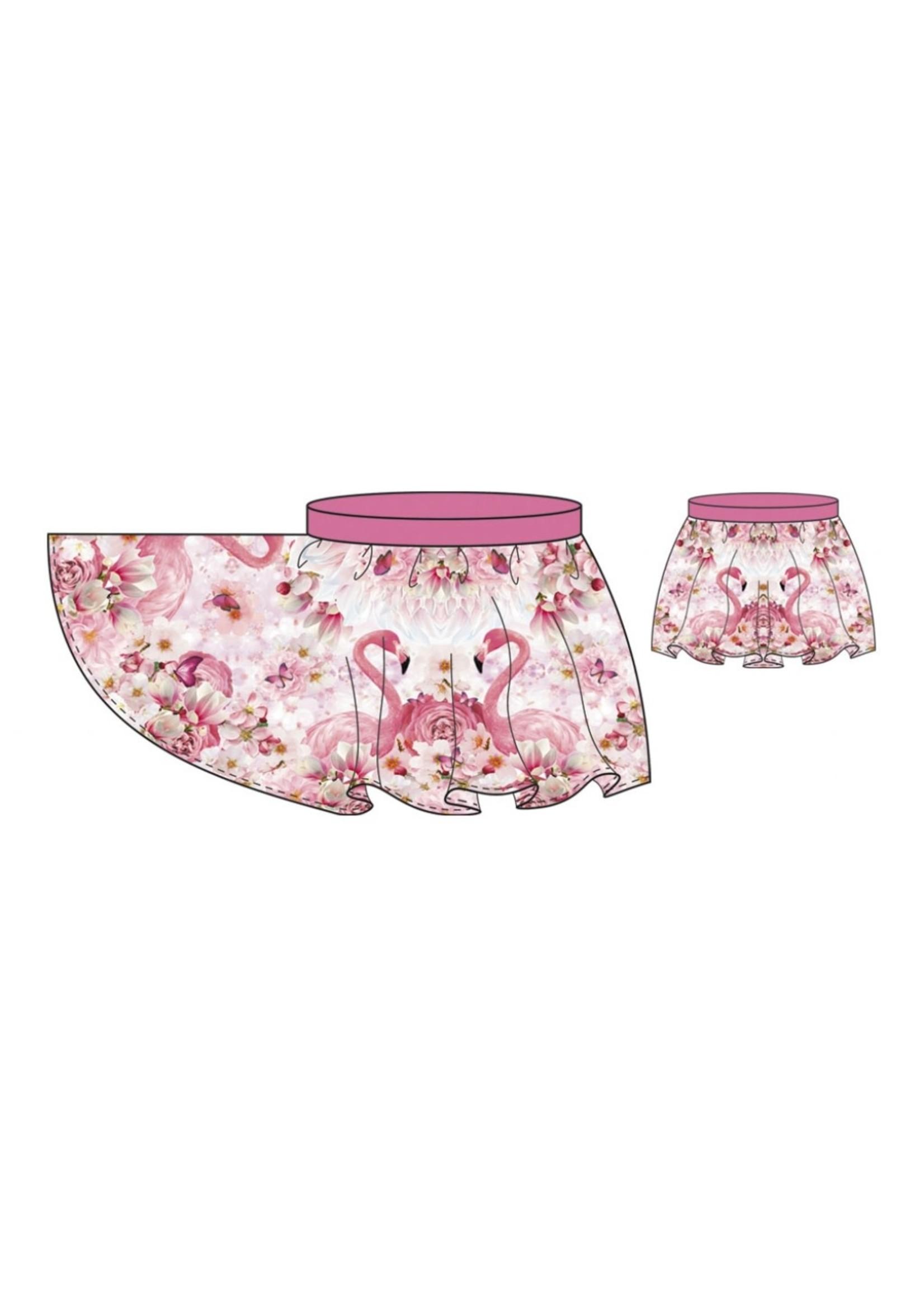 Stenzo Skirt Flamingo
