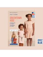 About Blue Fabrics Greentown kids pattern