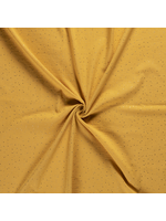 Nooteboom Textiles Hydrofiel dot oker