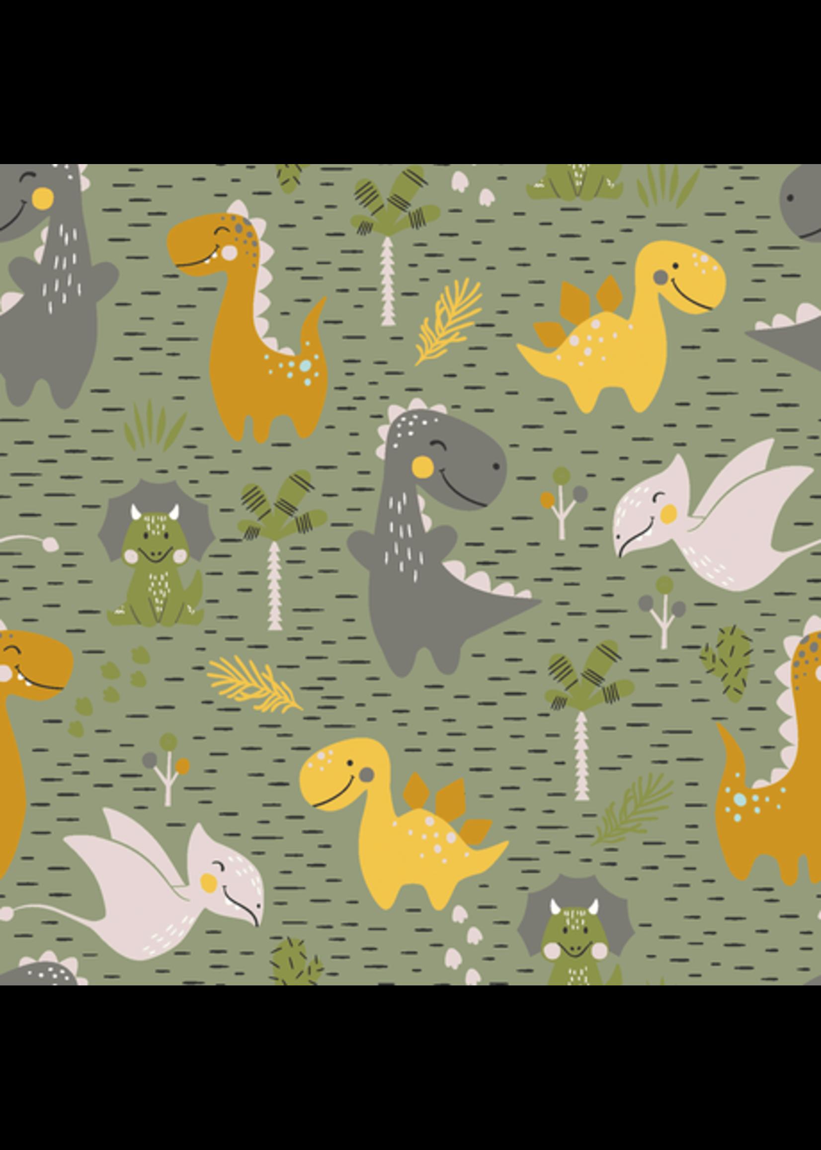 Nooteboom Textiles Jersey Dino island