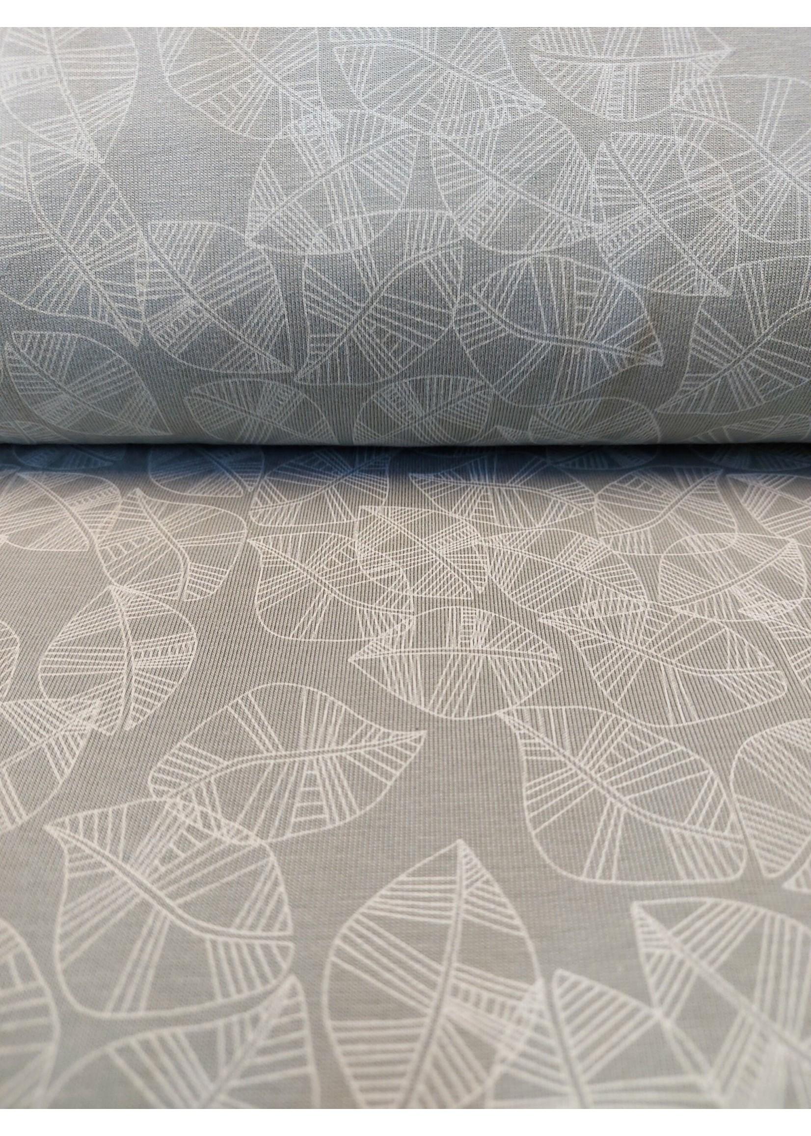 QT Fabrics Jersey leafs
