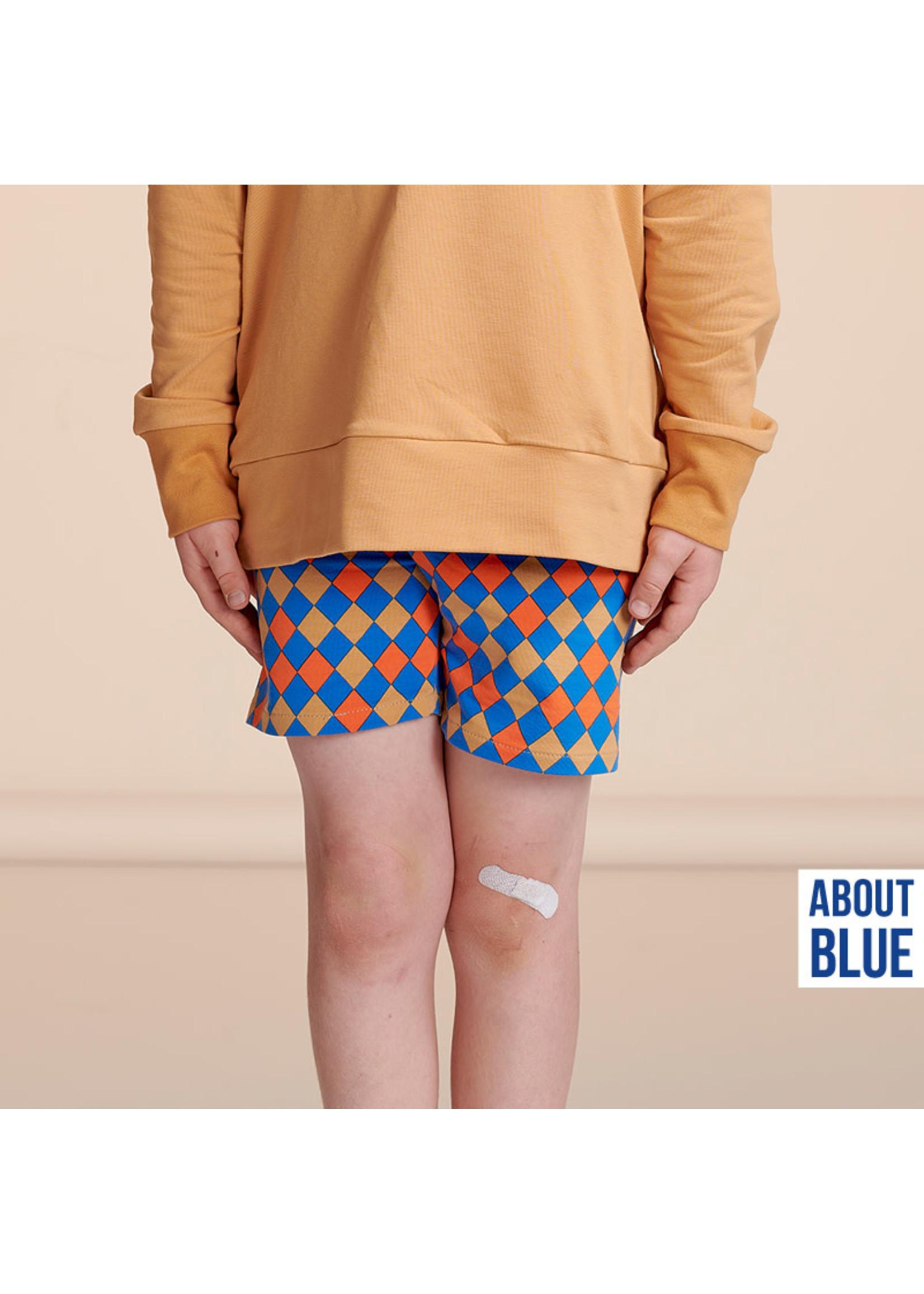 About Blue Fabrics Uni 20 - Indian Tan Ribbing