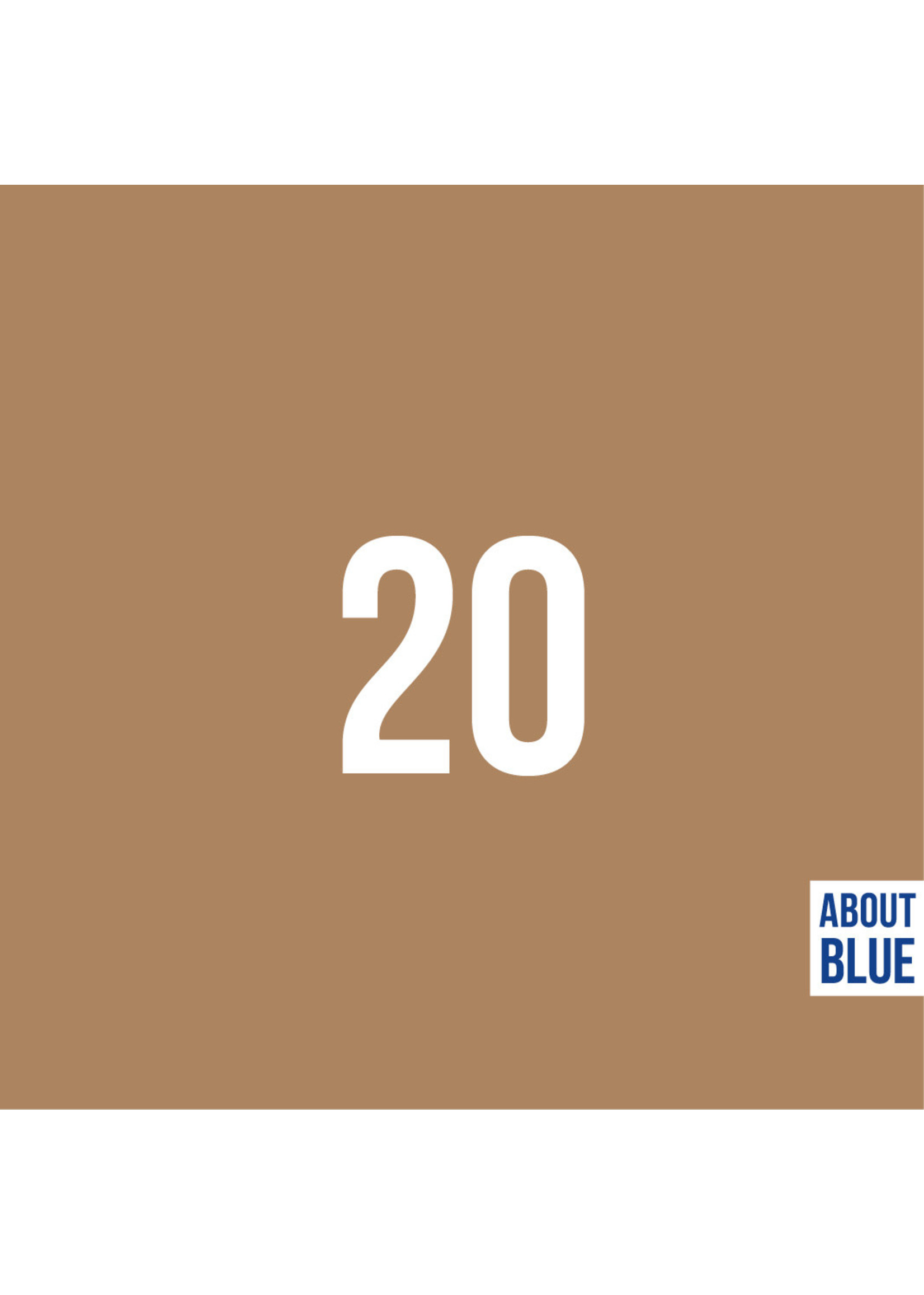 About Blue Fabrics Uni 20 - Indian Tan French Terry
