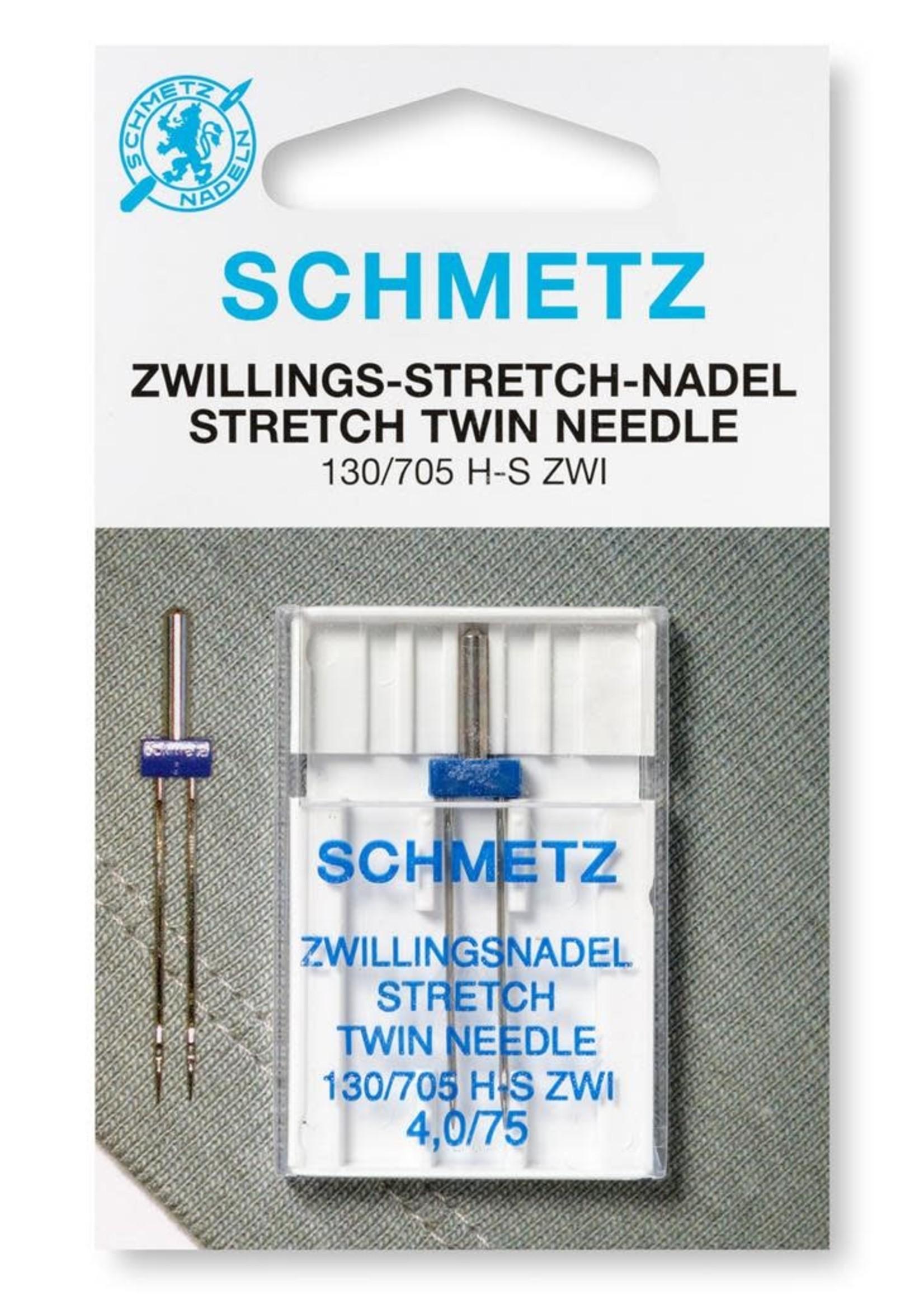 Schmetz Machinenaald tweeling stretch 75-4.0