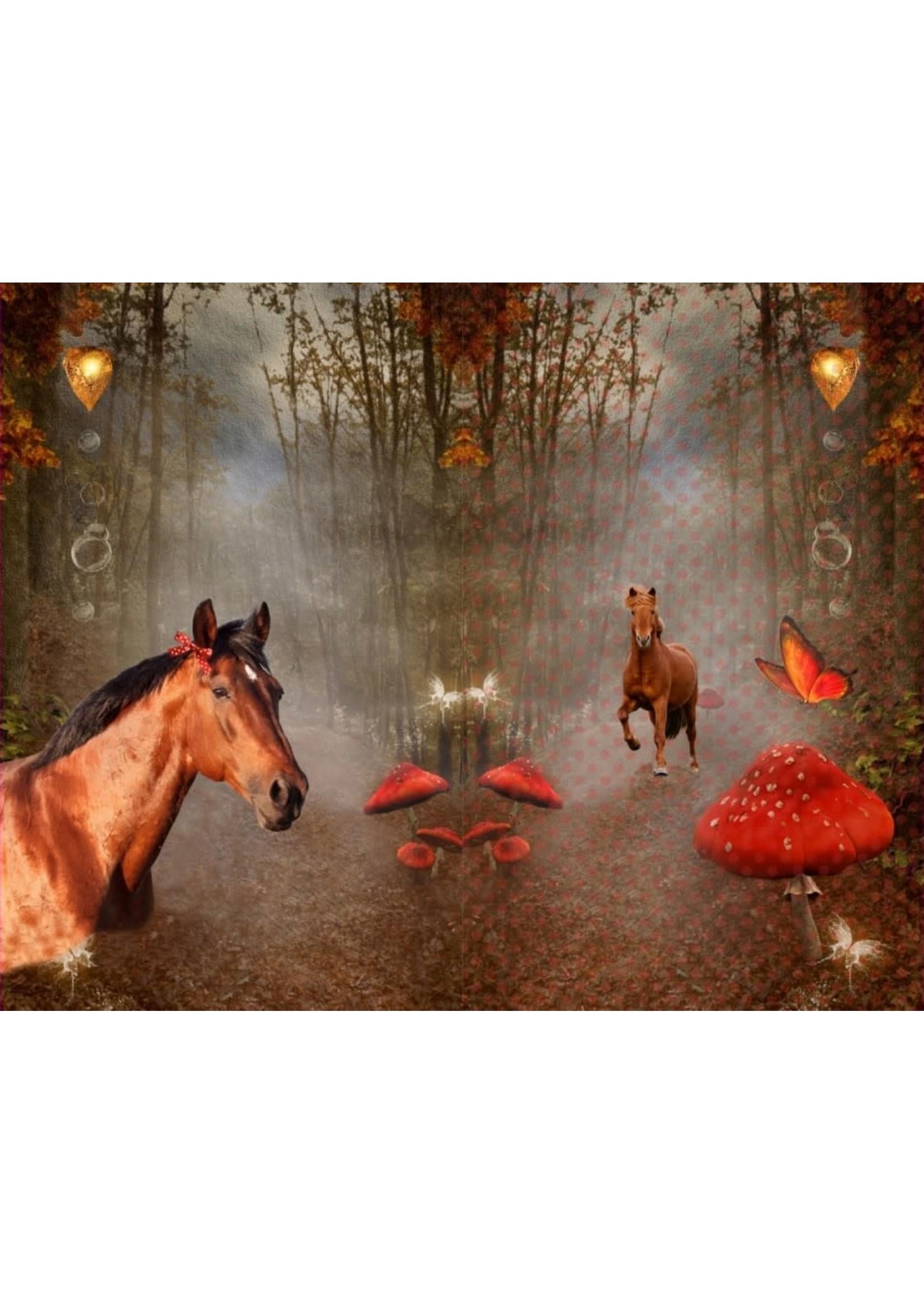 Stenzo Paneel Paarden groot