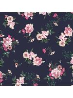 Designed for you by Poppy Sweat GOTS Digital Flowers