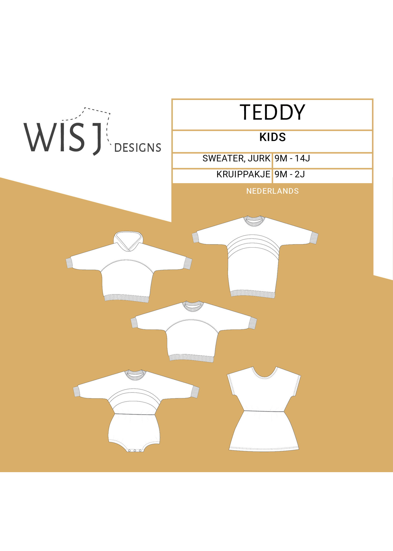 Wisj Designs Teddy wisj