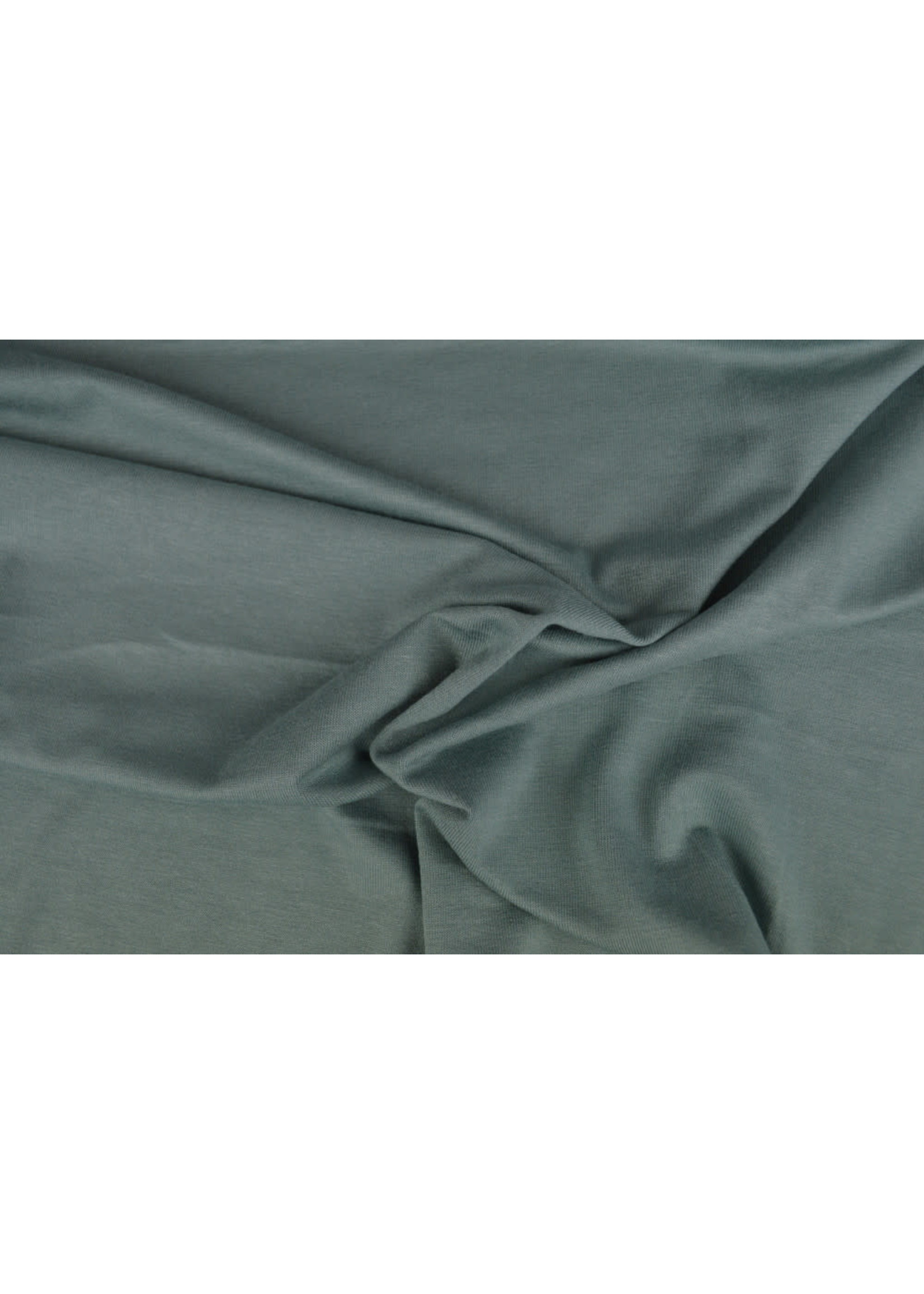 Viscose tricot oud groen