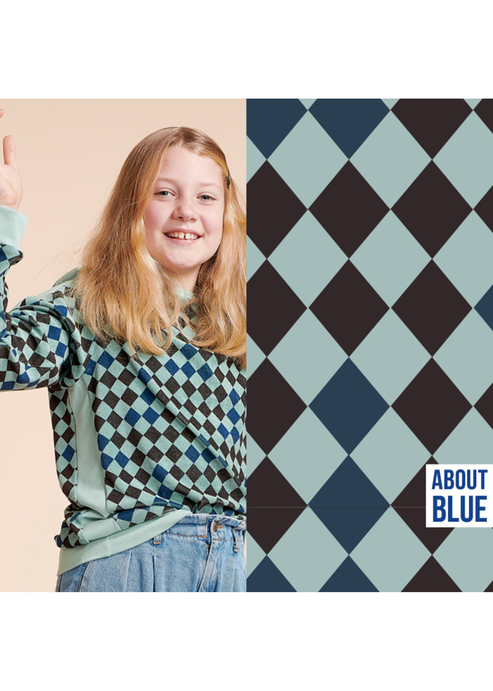 About Blue Fabrics Wonders of life - HARLEQUIN