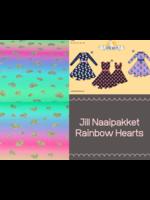 Jill Naaipakket Rainbow Hearts