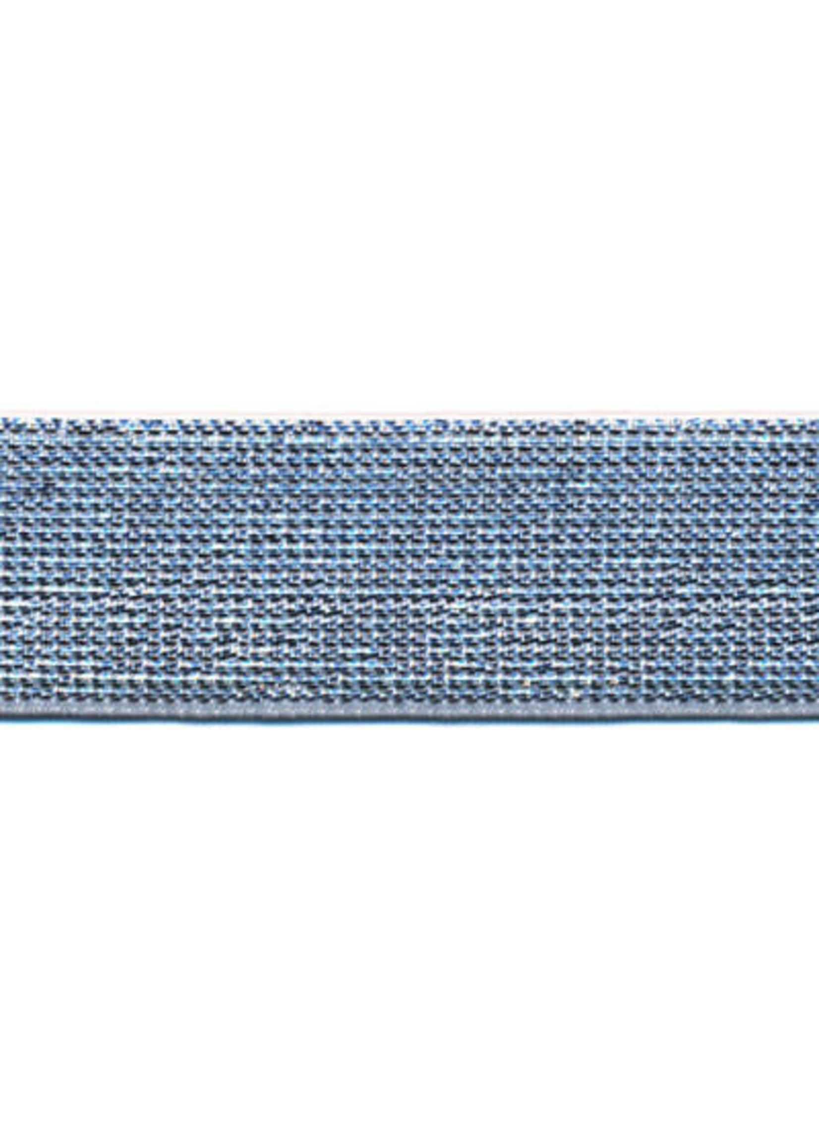 Elastiek Zilver 25mm