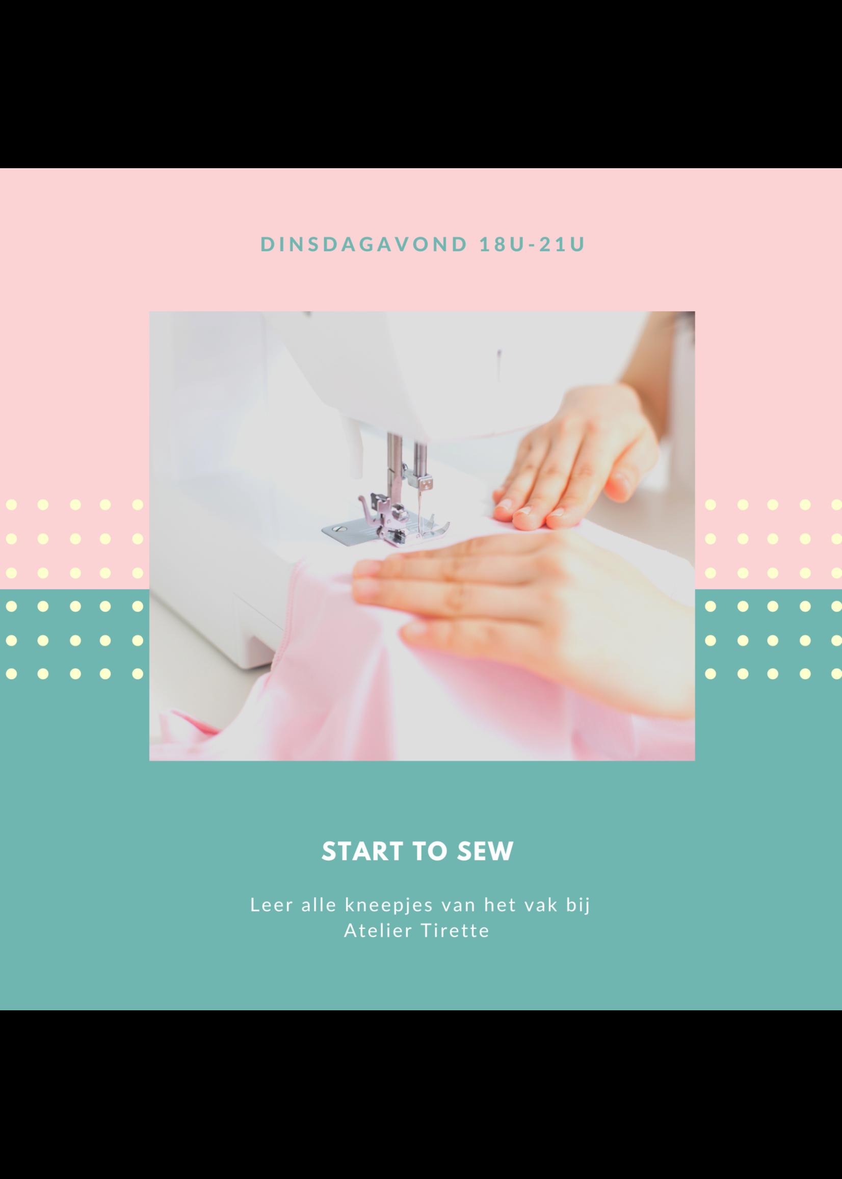 Start To Sew - Dinsdagavond