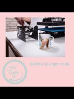 Workshop 'bedruk je eigen mok' - 20/10