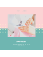 Start To Sew - Prive lessen