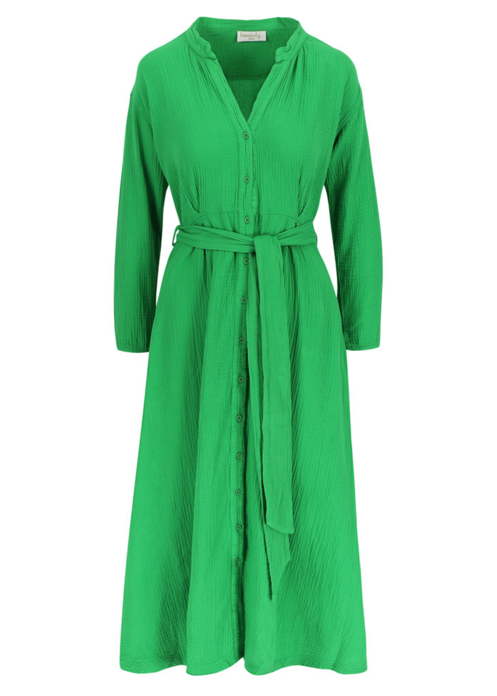 Heavenly Danni Dress - Apple Green