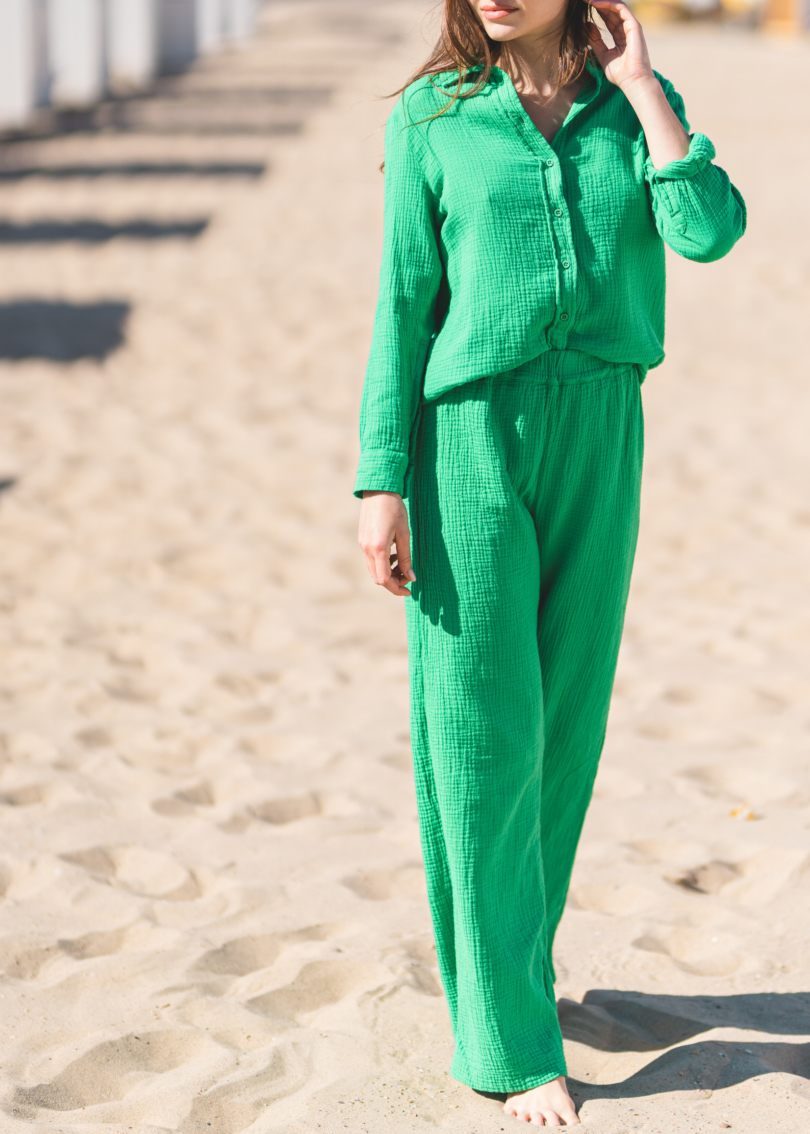 Heavenly Danni Shirt - Apple Green