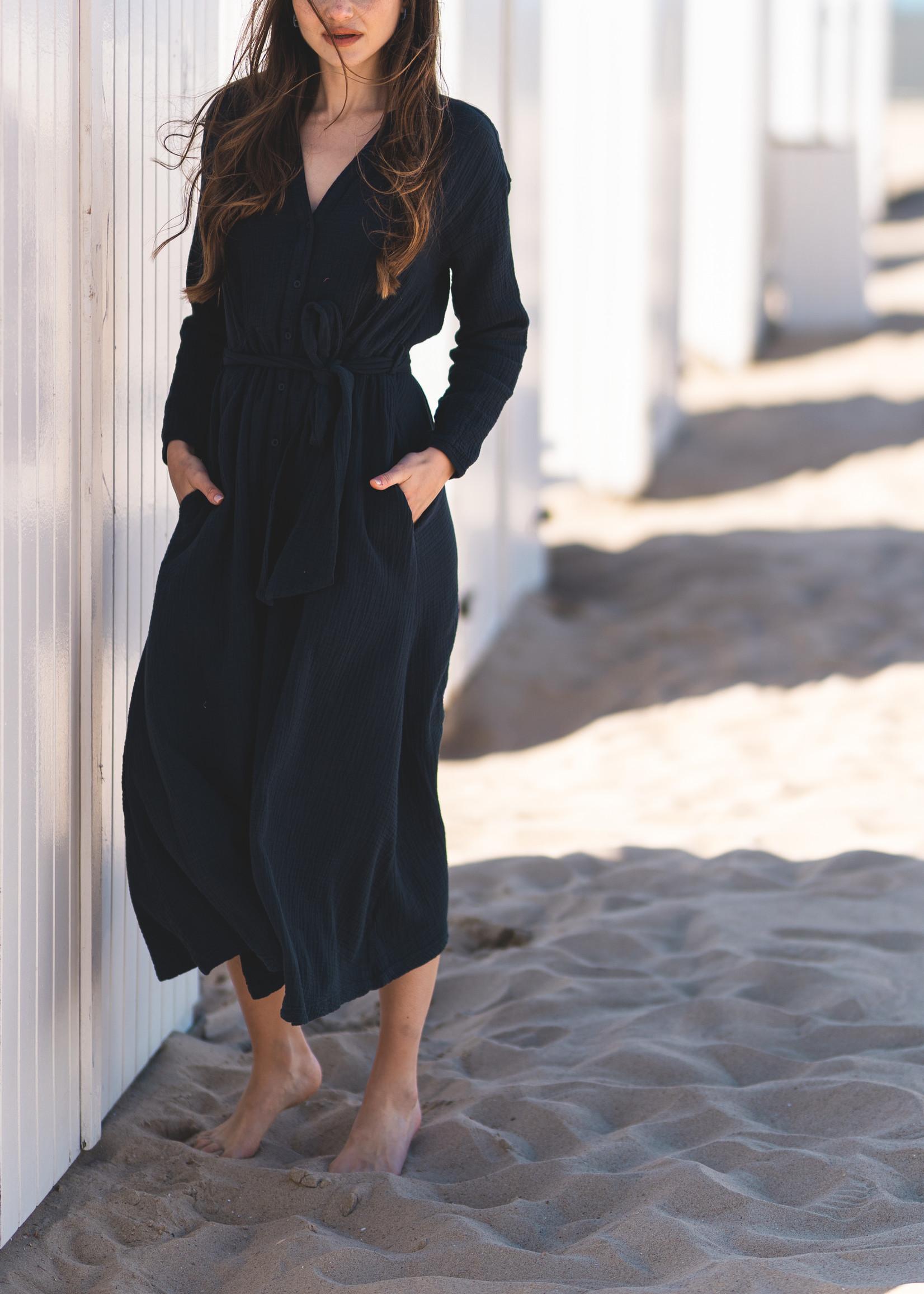 Heavenly Danni Dress - Navy
