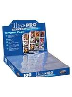 Ultra Pro 9-Hole Silver Blaadjes (100Stuks)