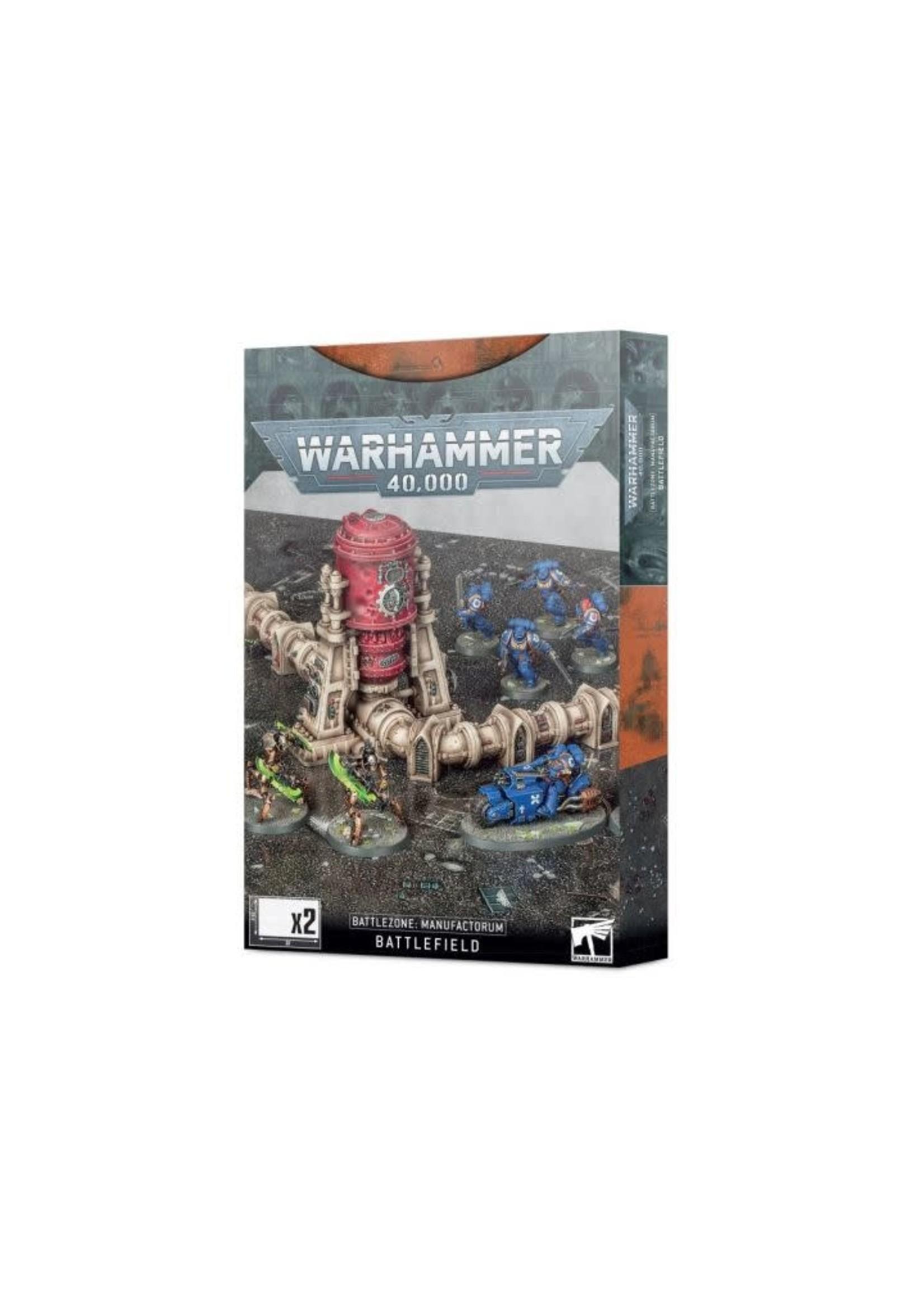 40K: Battlezone Manufactorum Battlefield