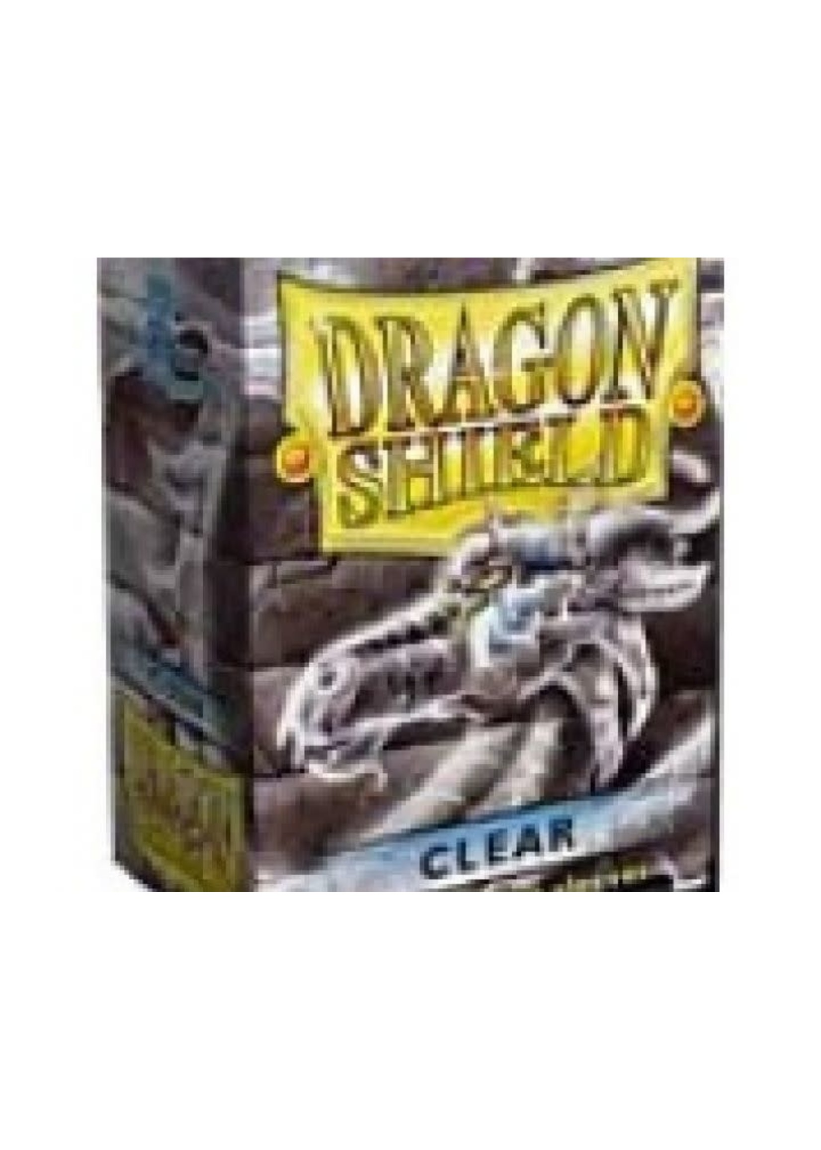 Dragonshield Sleeves 100St Clear