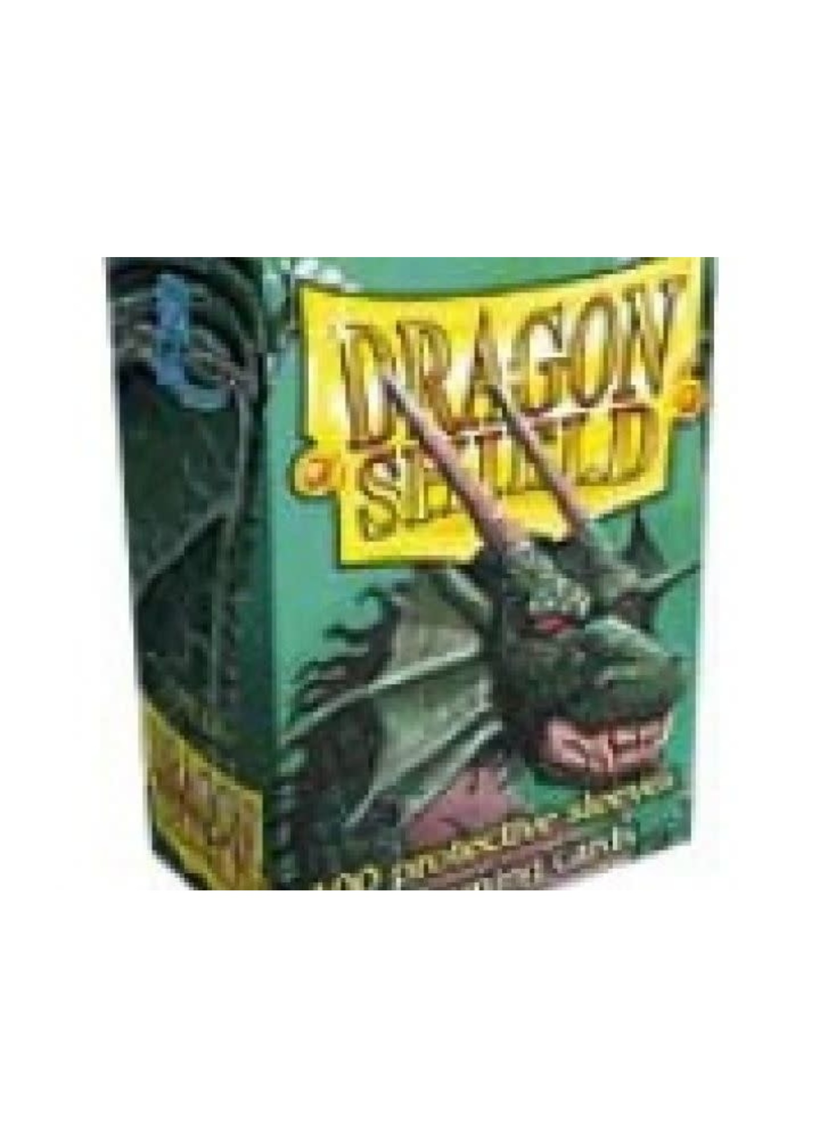 Dragonshield Sleeves 100St Green