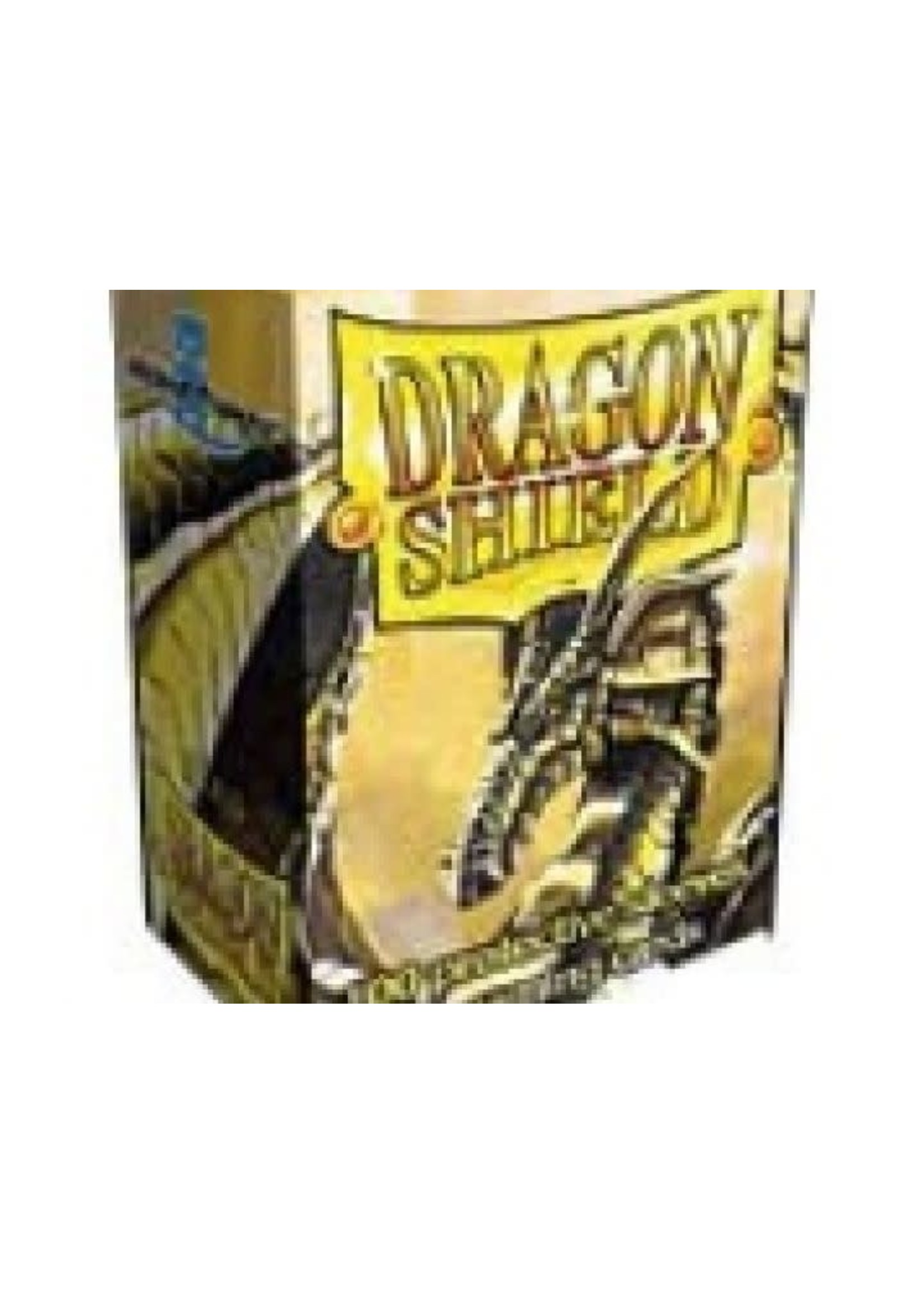 Dragon Shield Gold Sleeves (100Pcs)