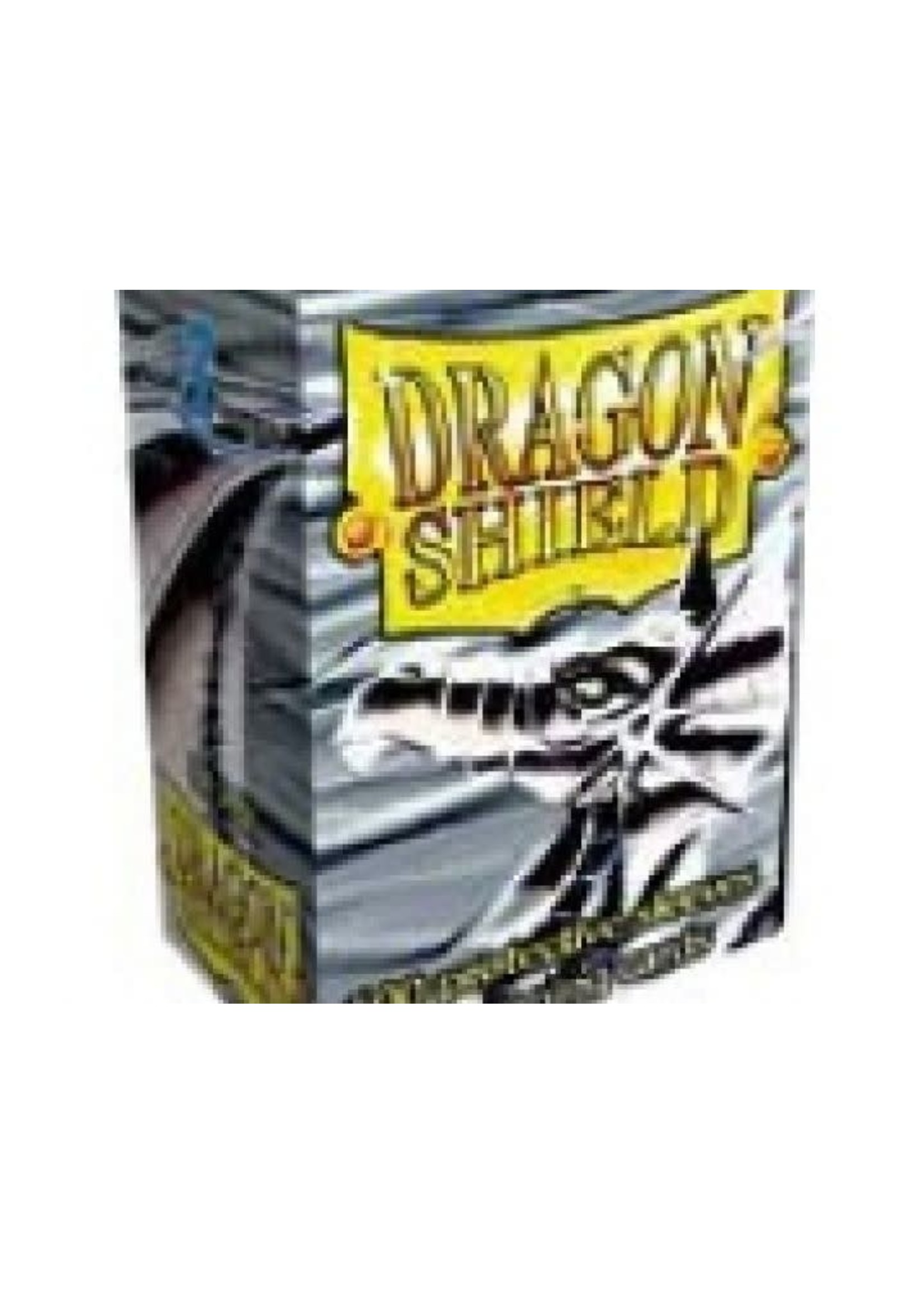 Dragonshield Sleeves 100St Silver