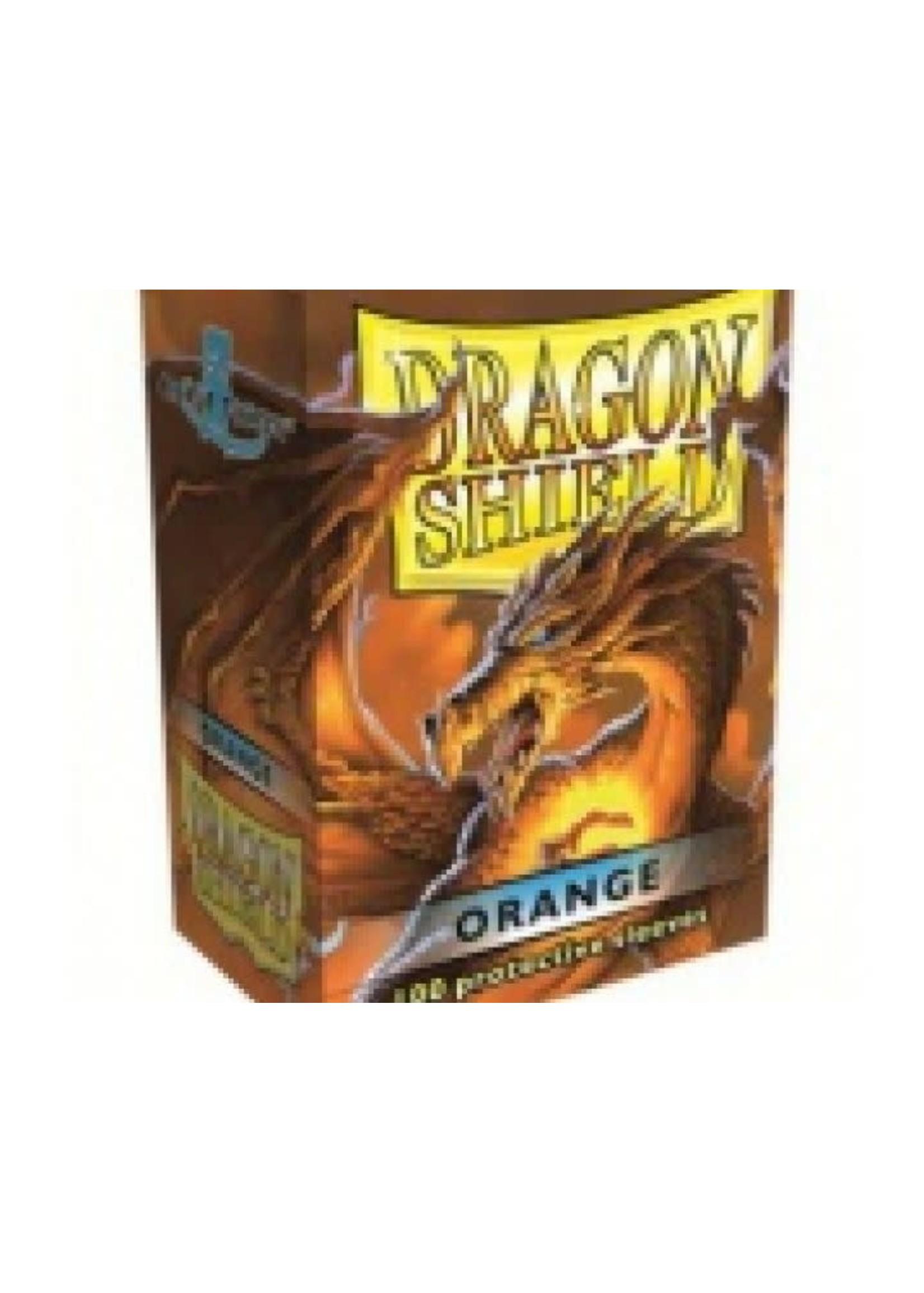 Dragonshield Sleeves 100St Orange