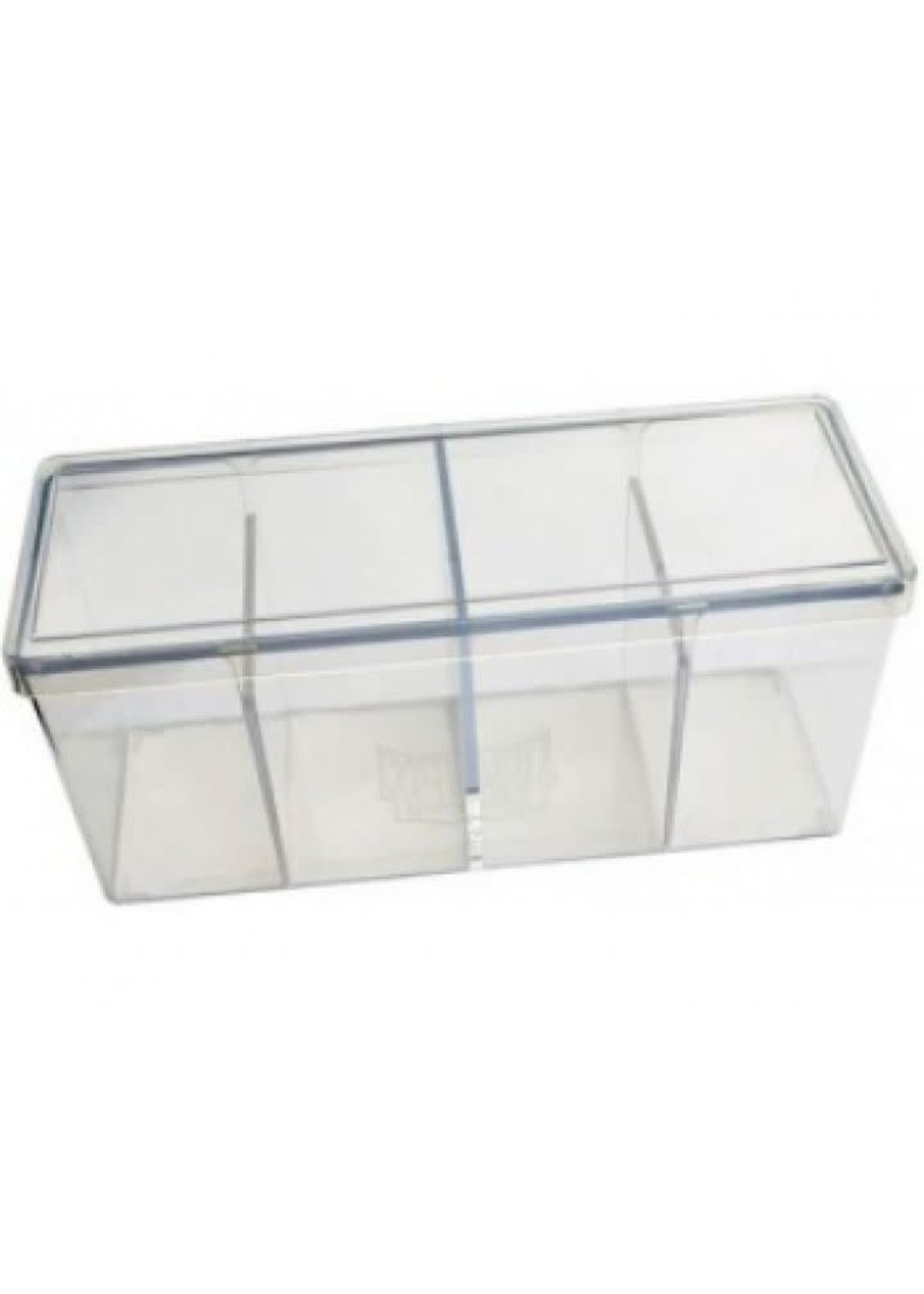 Dragonshield Four Compartment Storage Box Clear