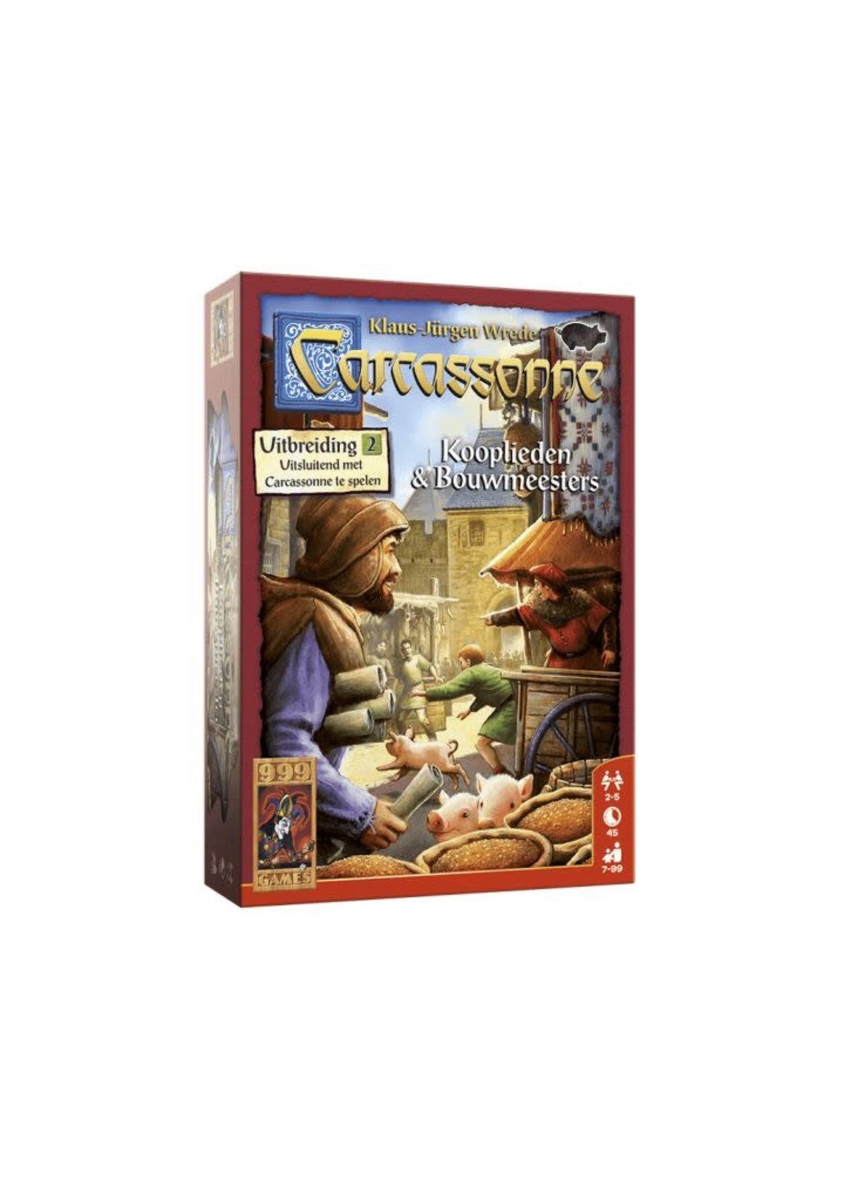 Carcassonne: Kooplieden En Bouwmeesters