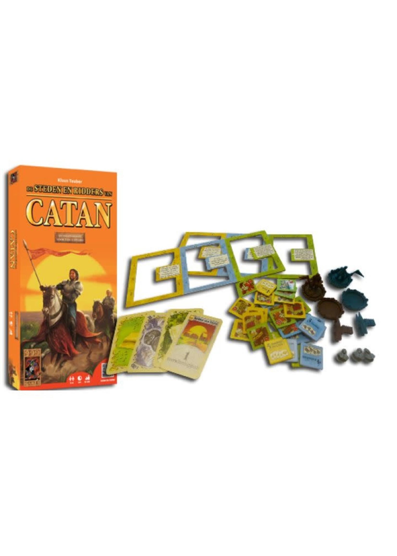 Kolonisten Van Catan: Steden & Ridders (Uitbreiding 5-6 Spelers)