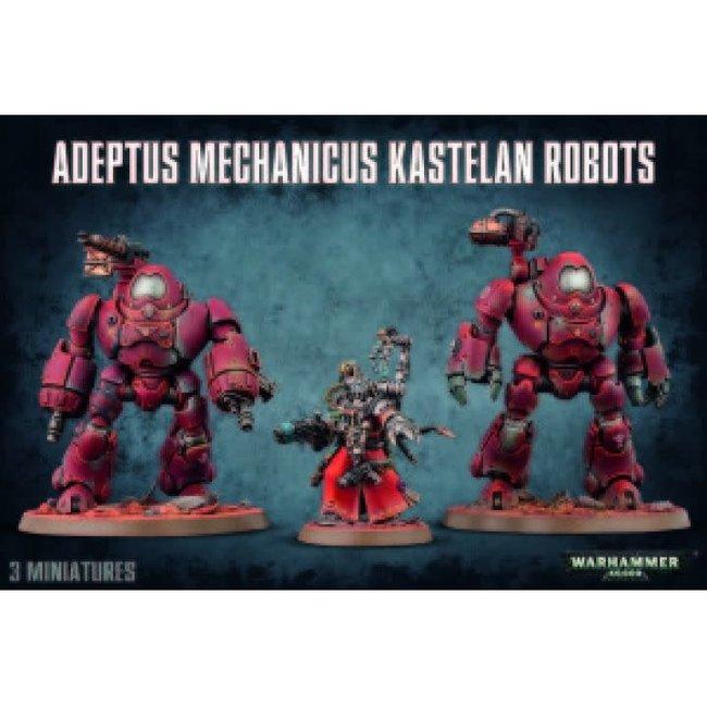 Adeptus Mechanicus Kestelan Robots