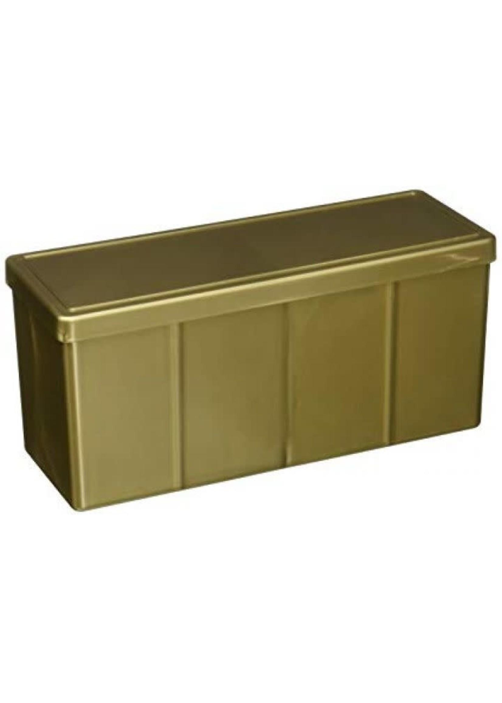 Dragonshield Four Compartment Storage Box Gold