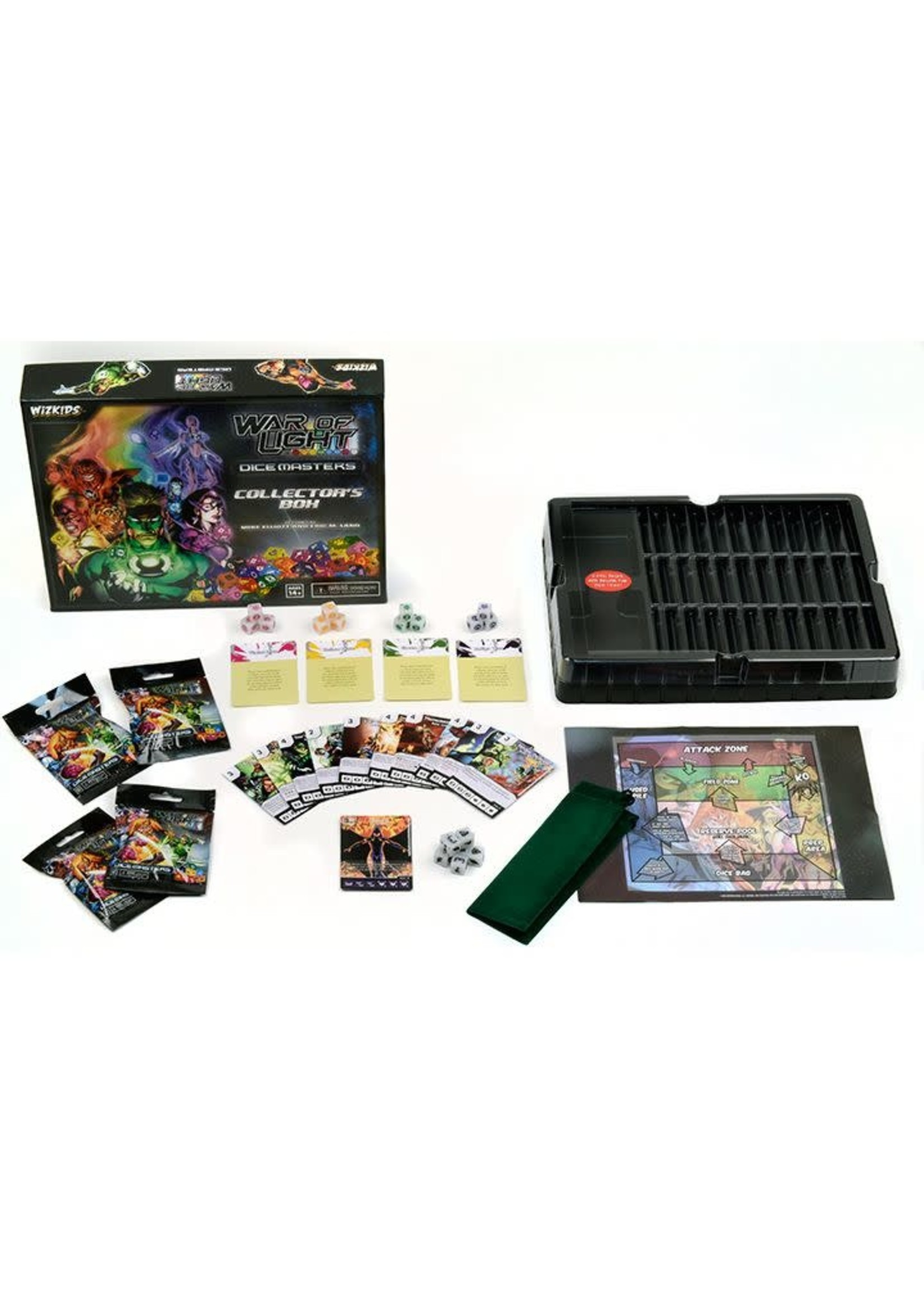 Dice Masters War Of Light Collector'S Box