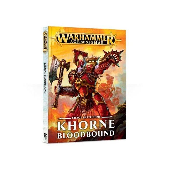 Age Of Sigmar Khorne Bloodbound Battletome