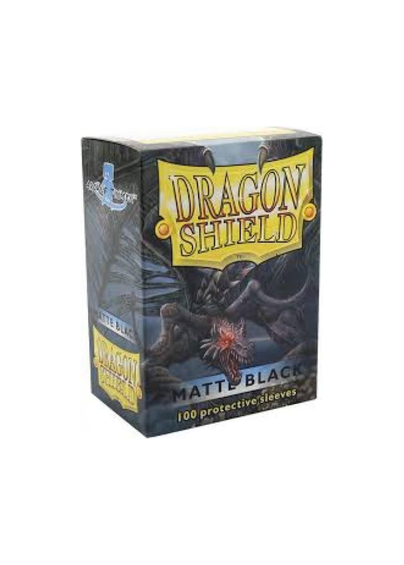 Dragon Shield Sleeves Matte Black (100Pcs)