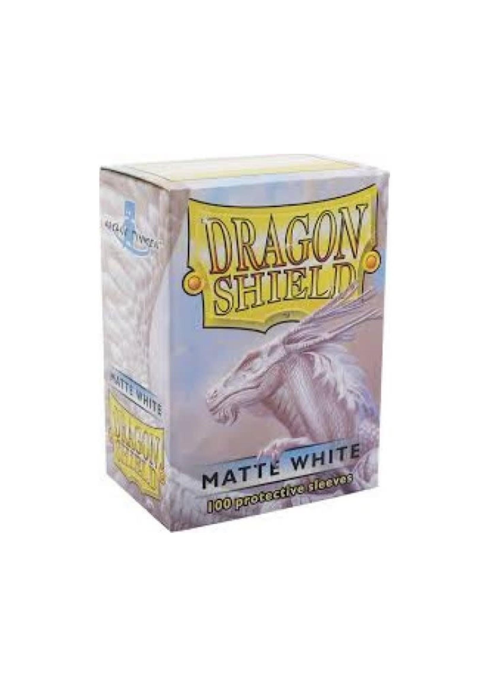 Dragon Shield Sleeves Matte White