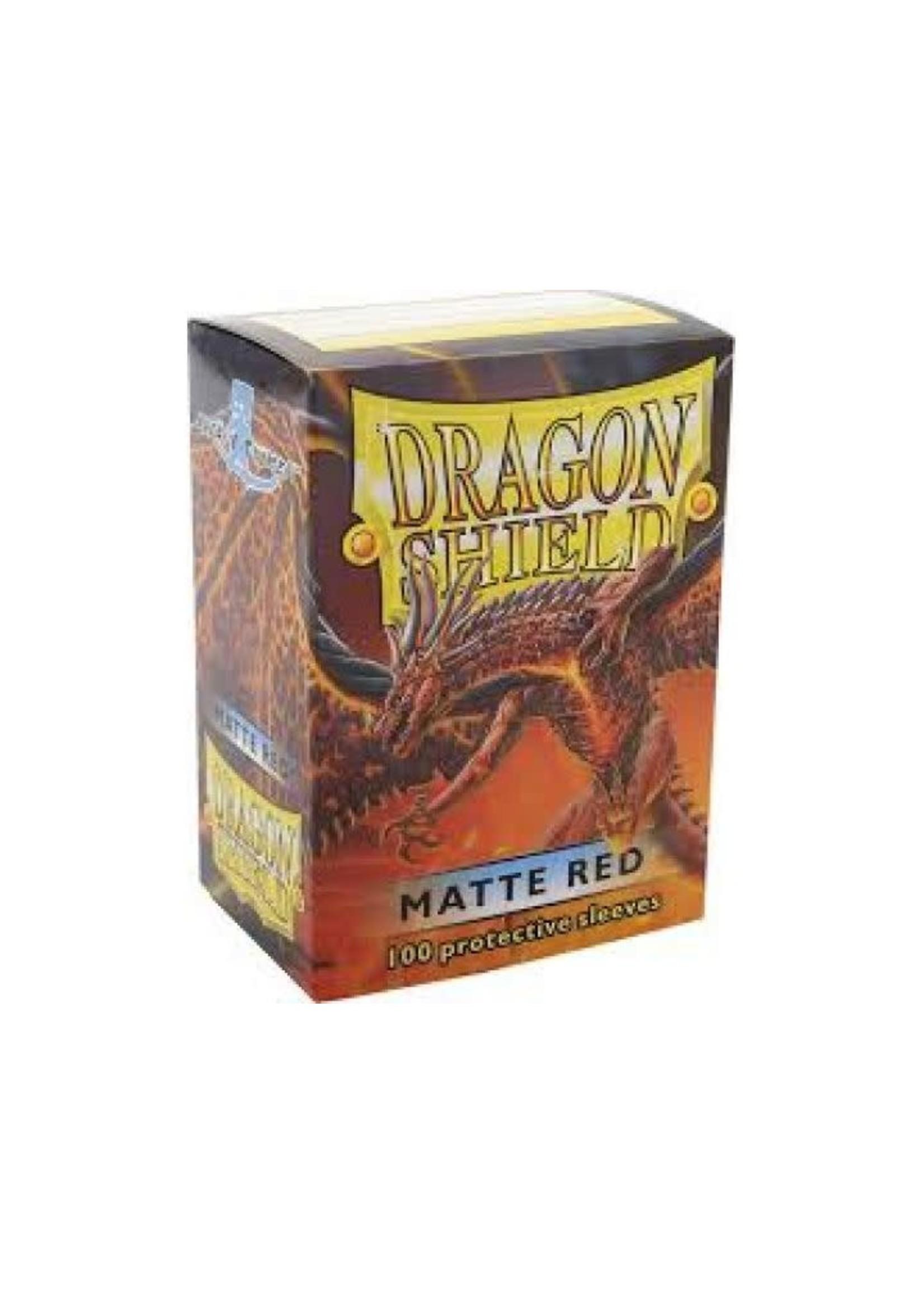 Dragon Shield Sleeve Matte Red