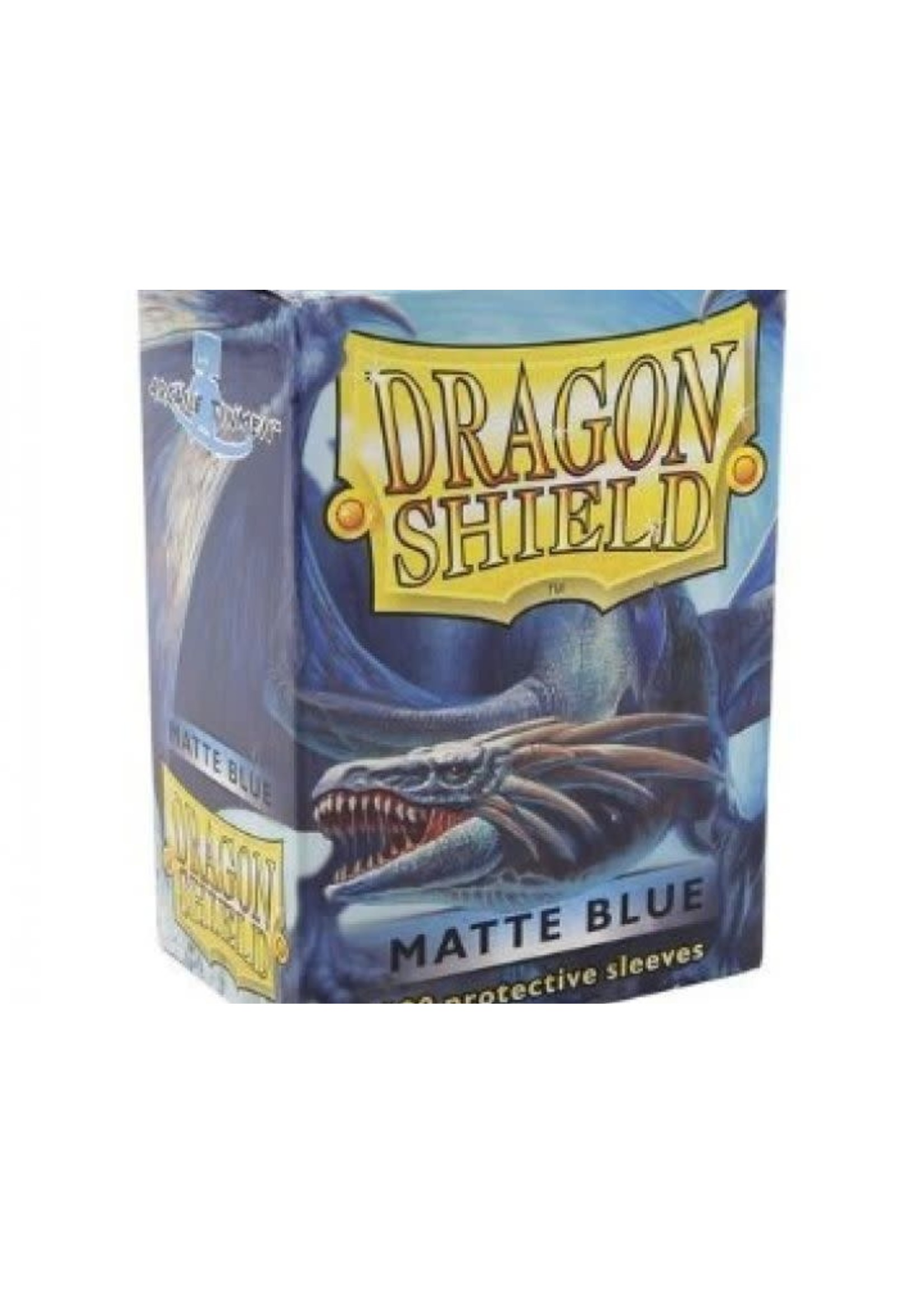 Dragonshield Sleeves Matte Blue