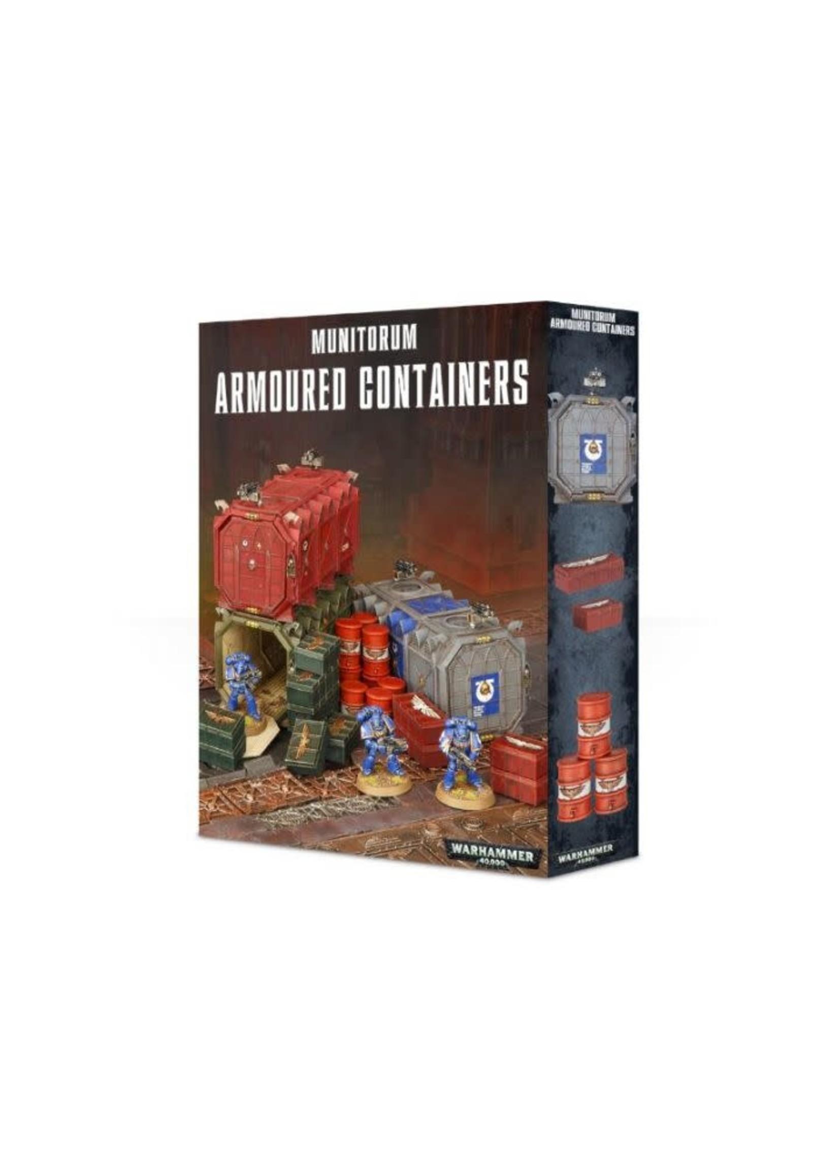 Munitorium Armoured Containers