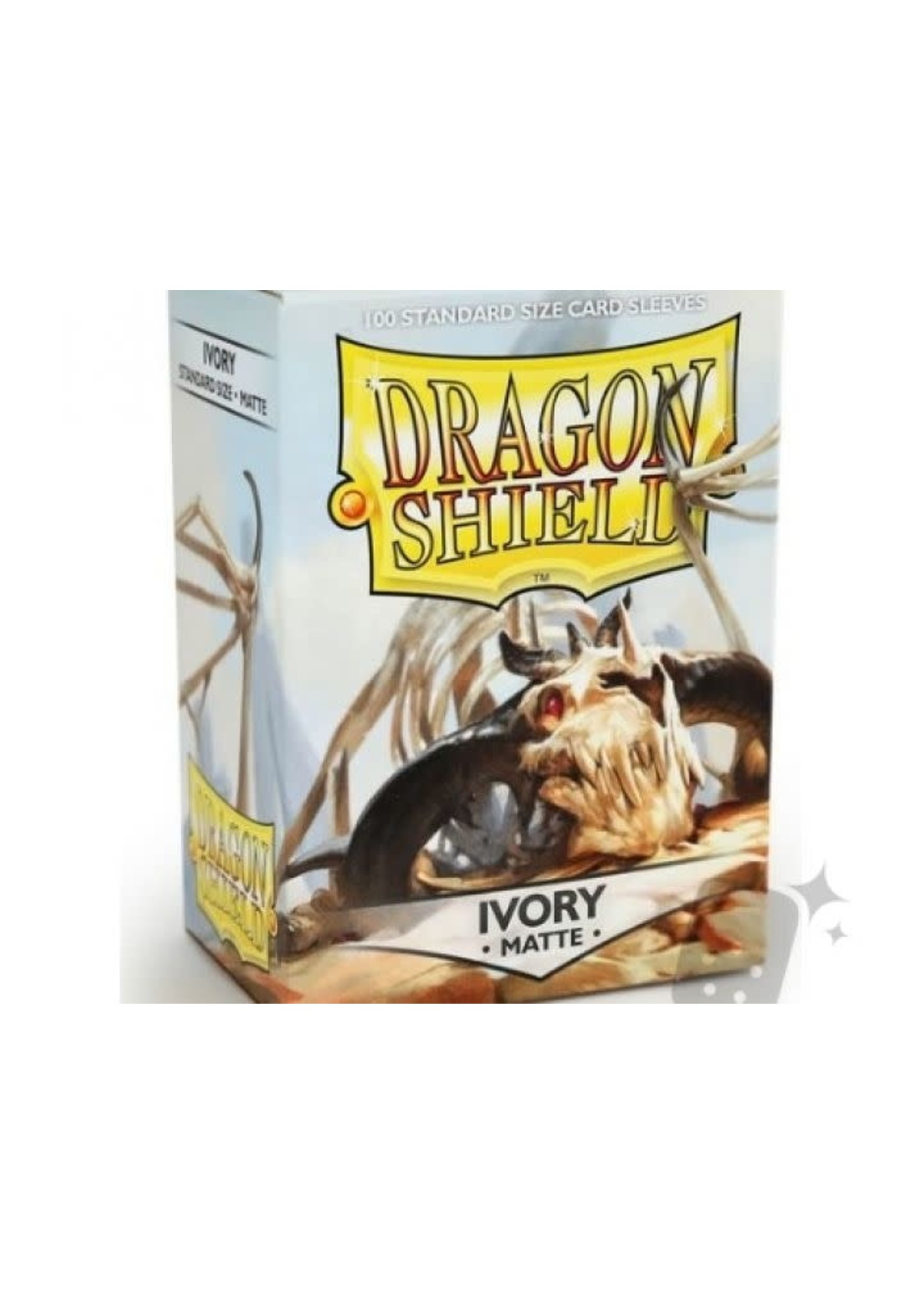 Dragonshield Sleeves Ivory Matte