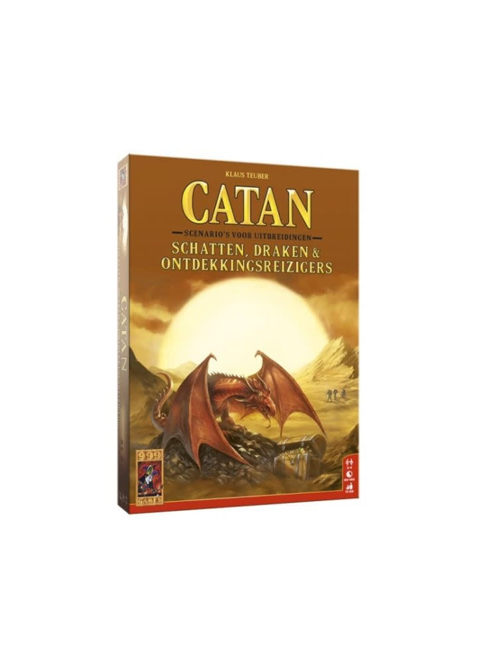 Catan Scenario'S Voor Uitbreidingen Schatten Draken & Ontdekkingsreizigers