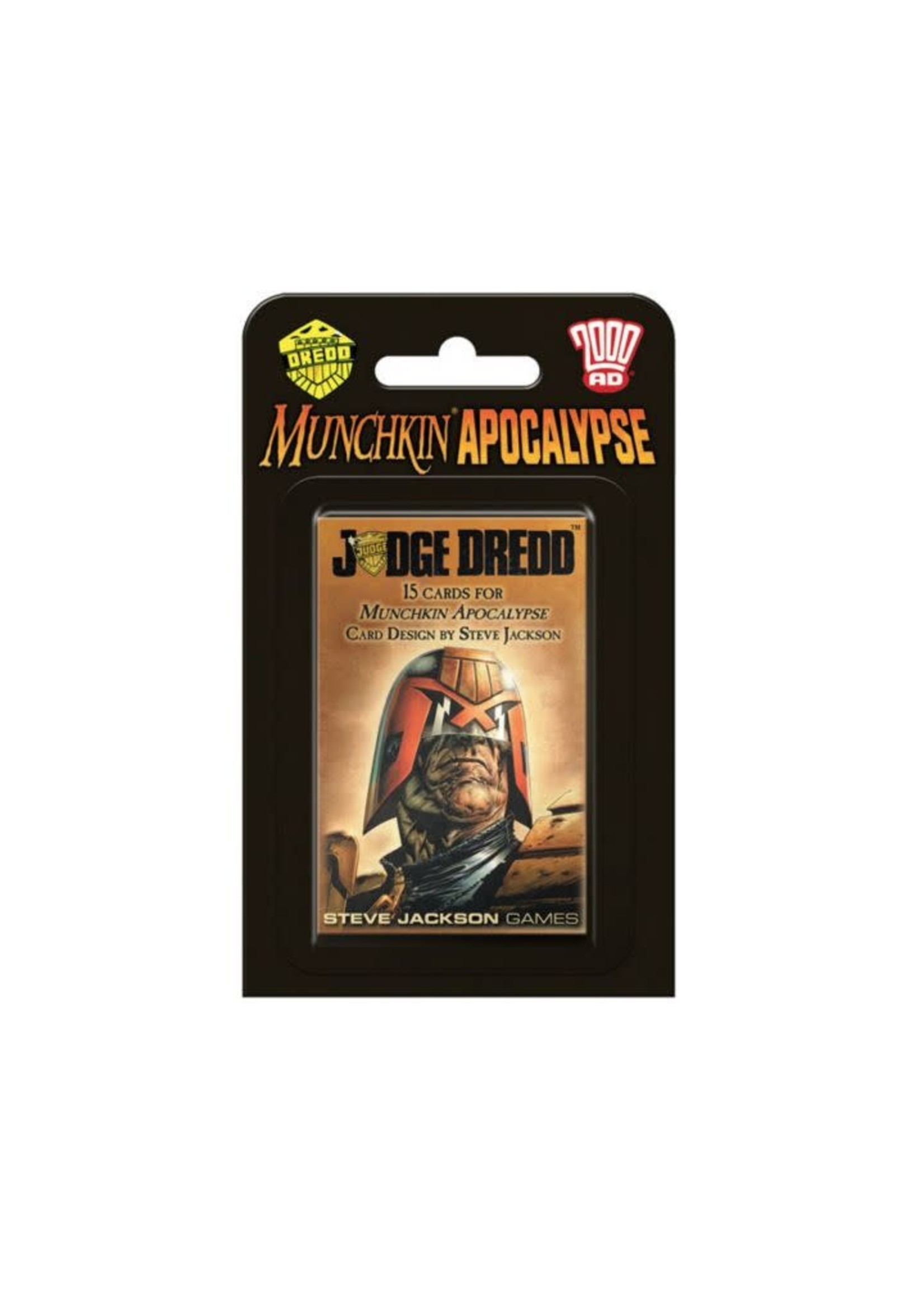 Munchkin Apocalypse Judge Dredd