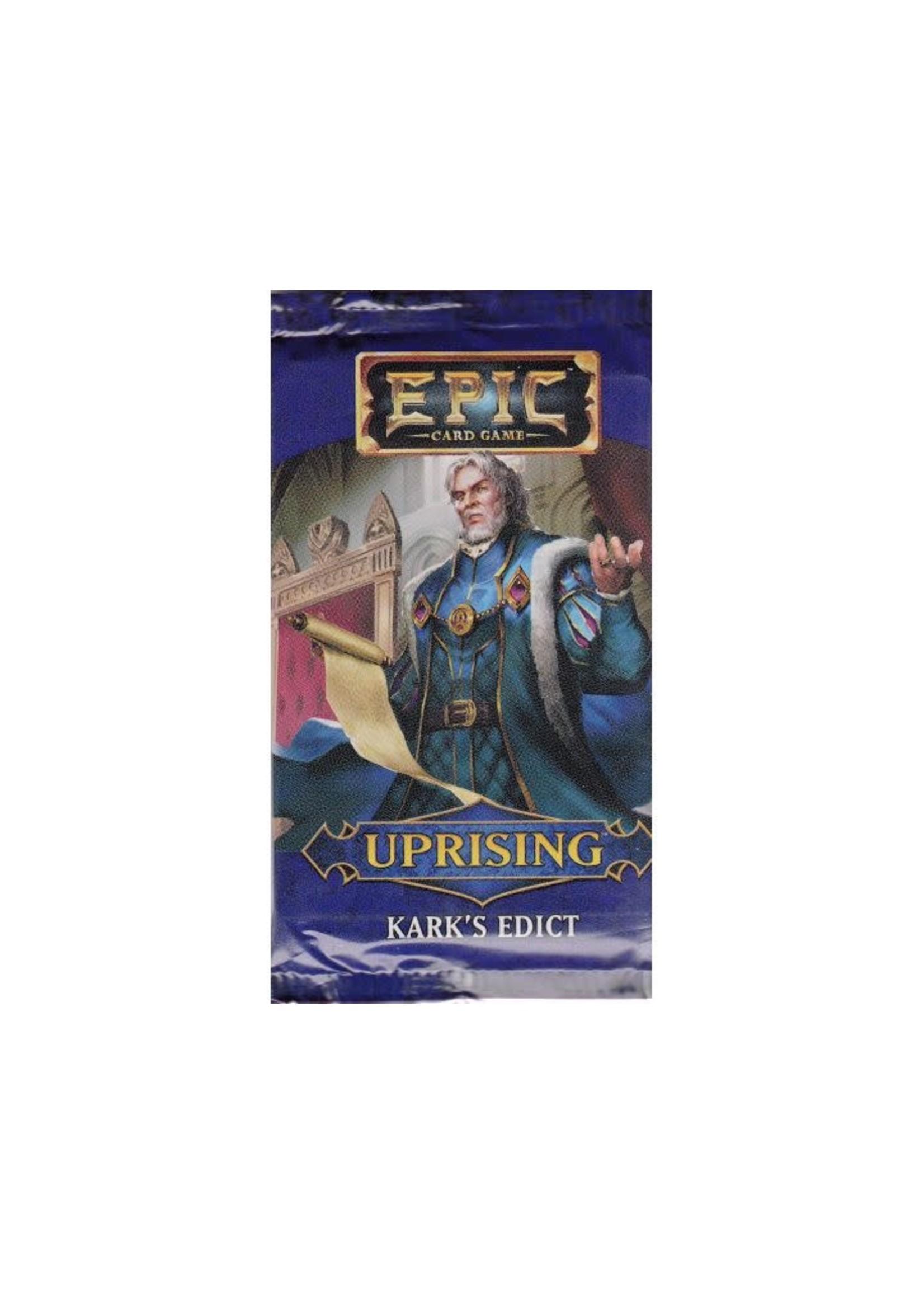 Epic Uprising Kark'S Edict