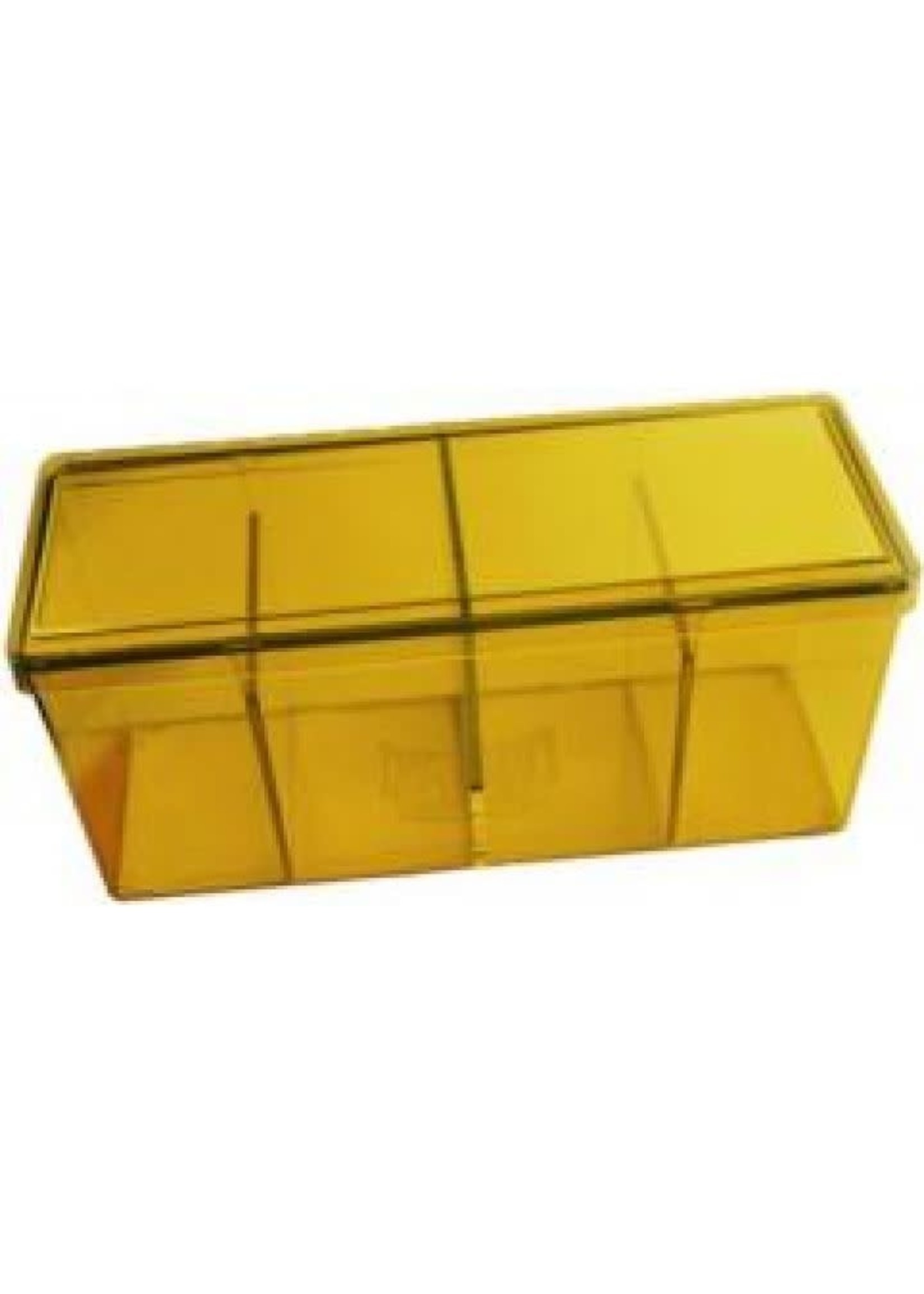 Dragonshield Four Compartment Box Yellow