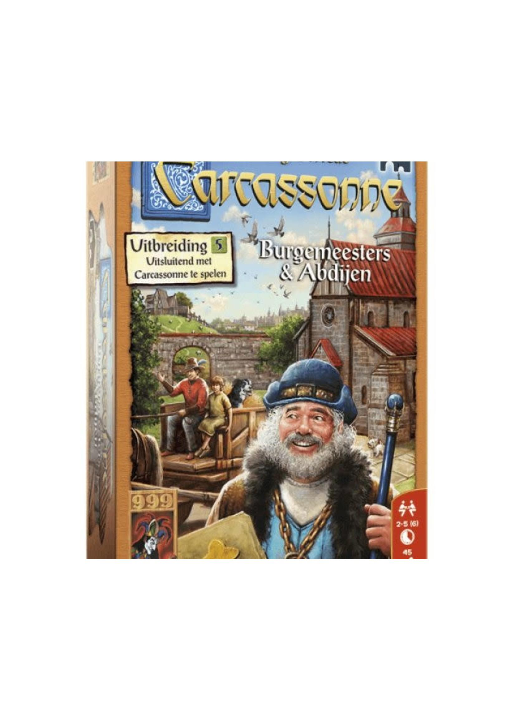 Carcassonne Uitbreiding 5 Burgemeesters & Abdijen