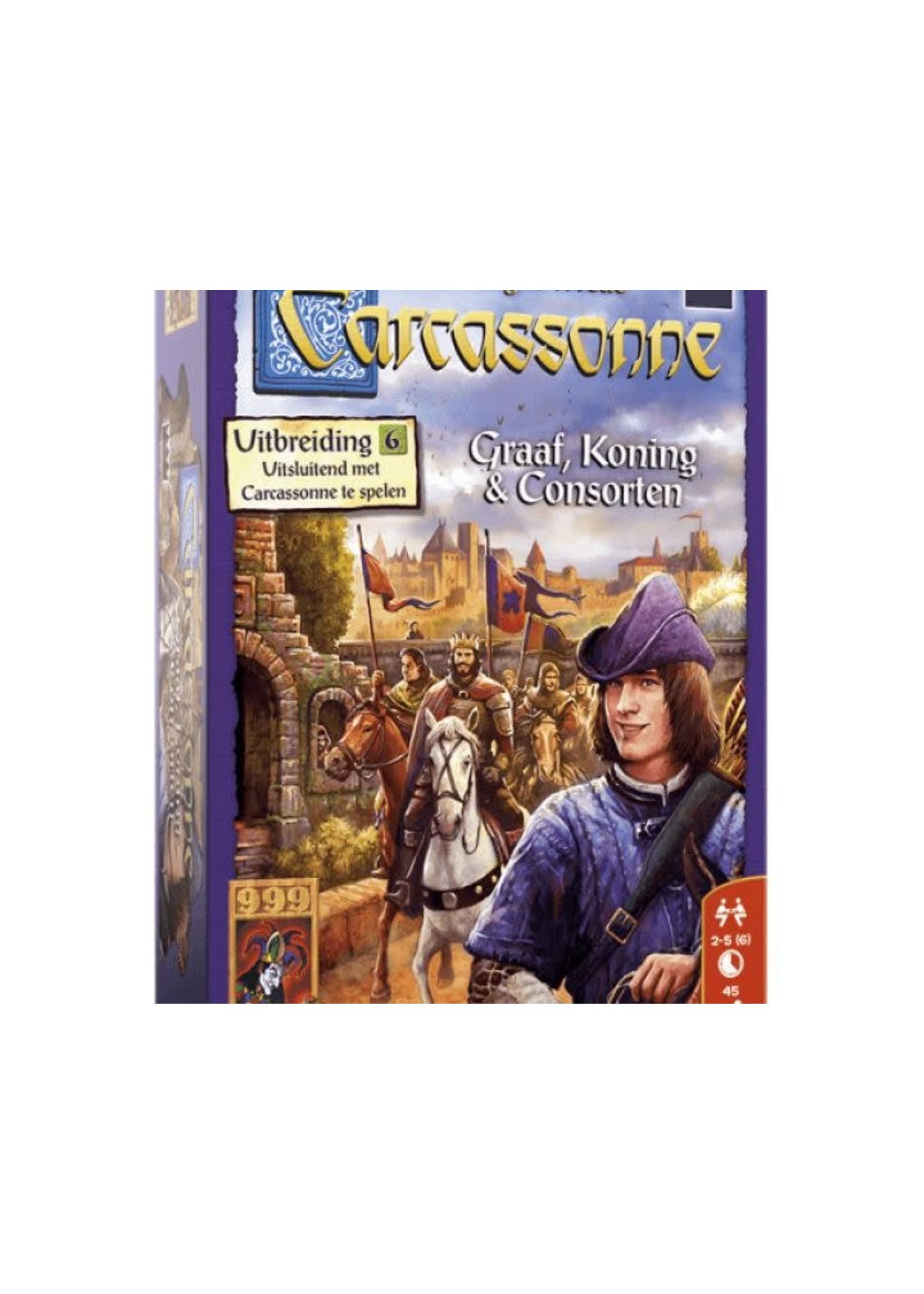 Carcassonne Uitbreiding 6 Graaf, Koning & Consorten