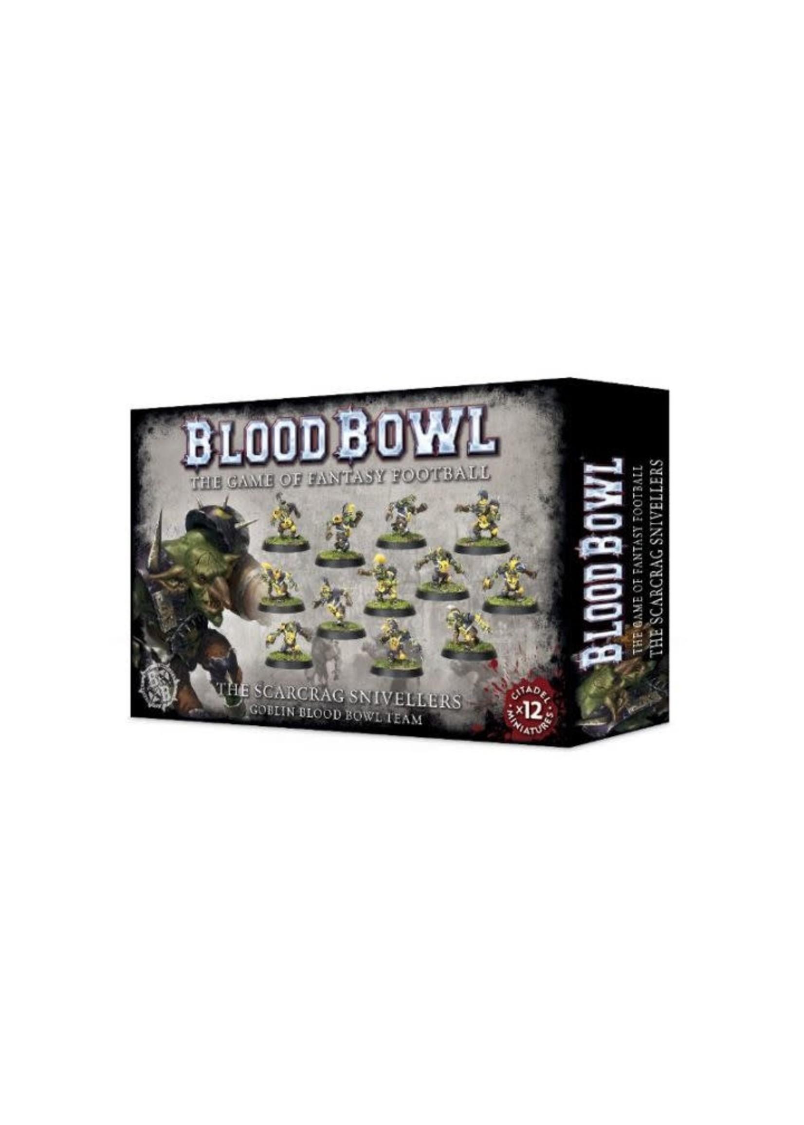 Blood Bowl Scarcrag Snivellers Goblin Team
